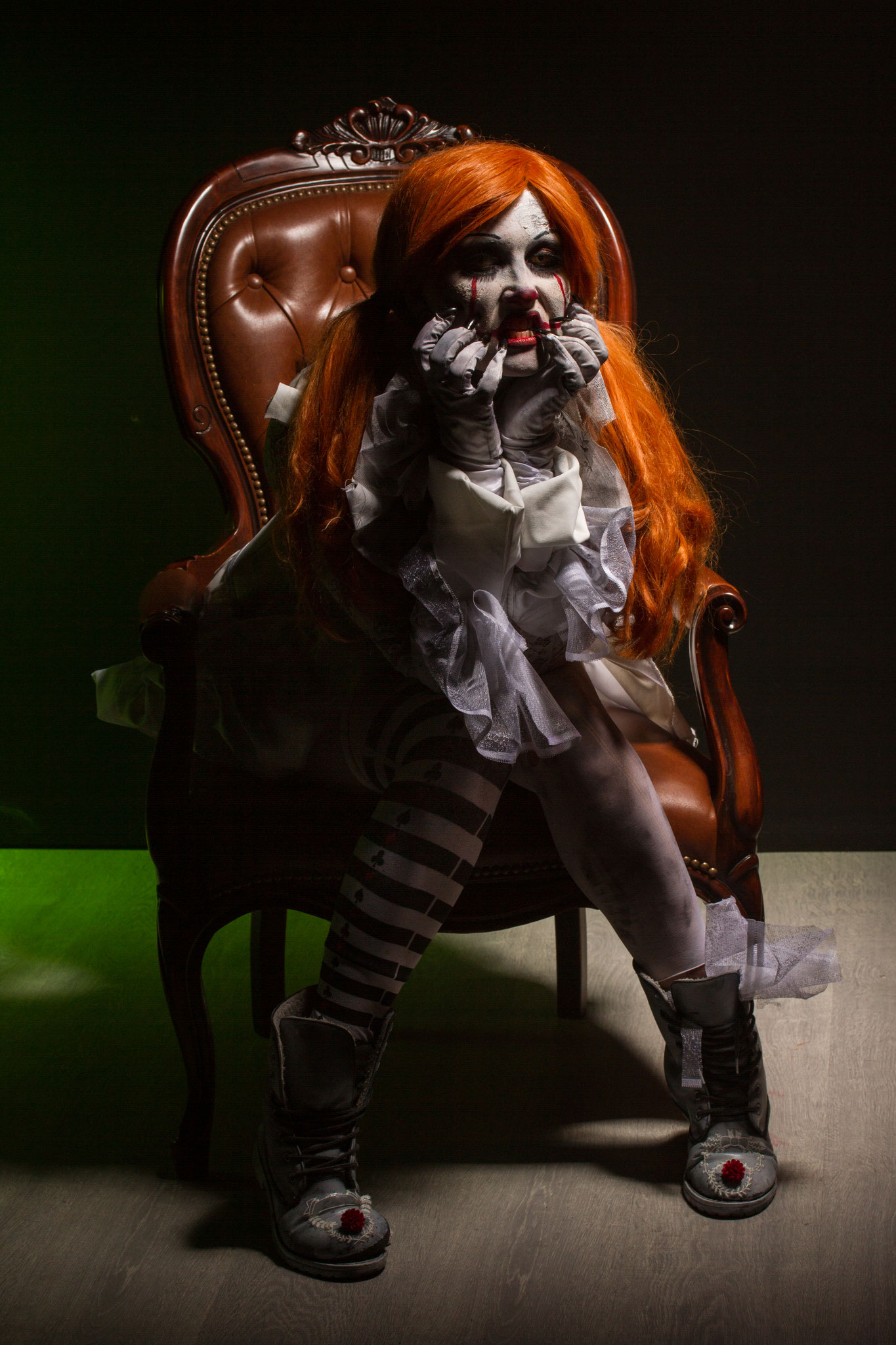 Clown décalé avec Elodie Debay
