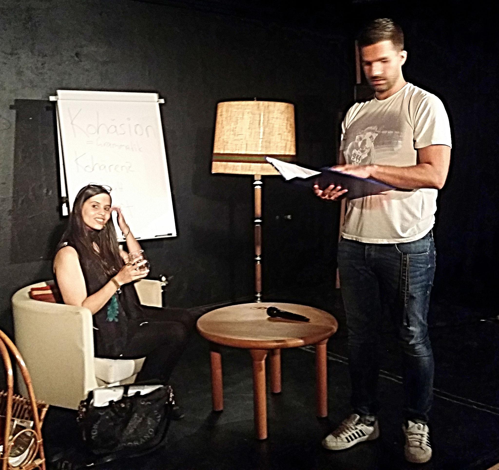 Workshop-Time: Ronny und Nora hatten viele Tipps