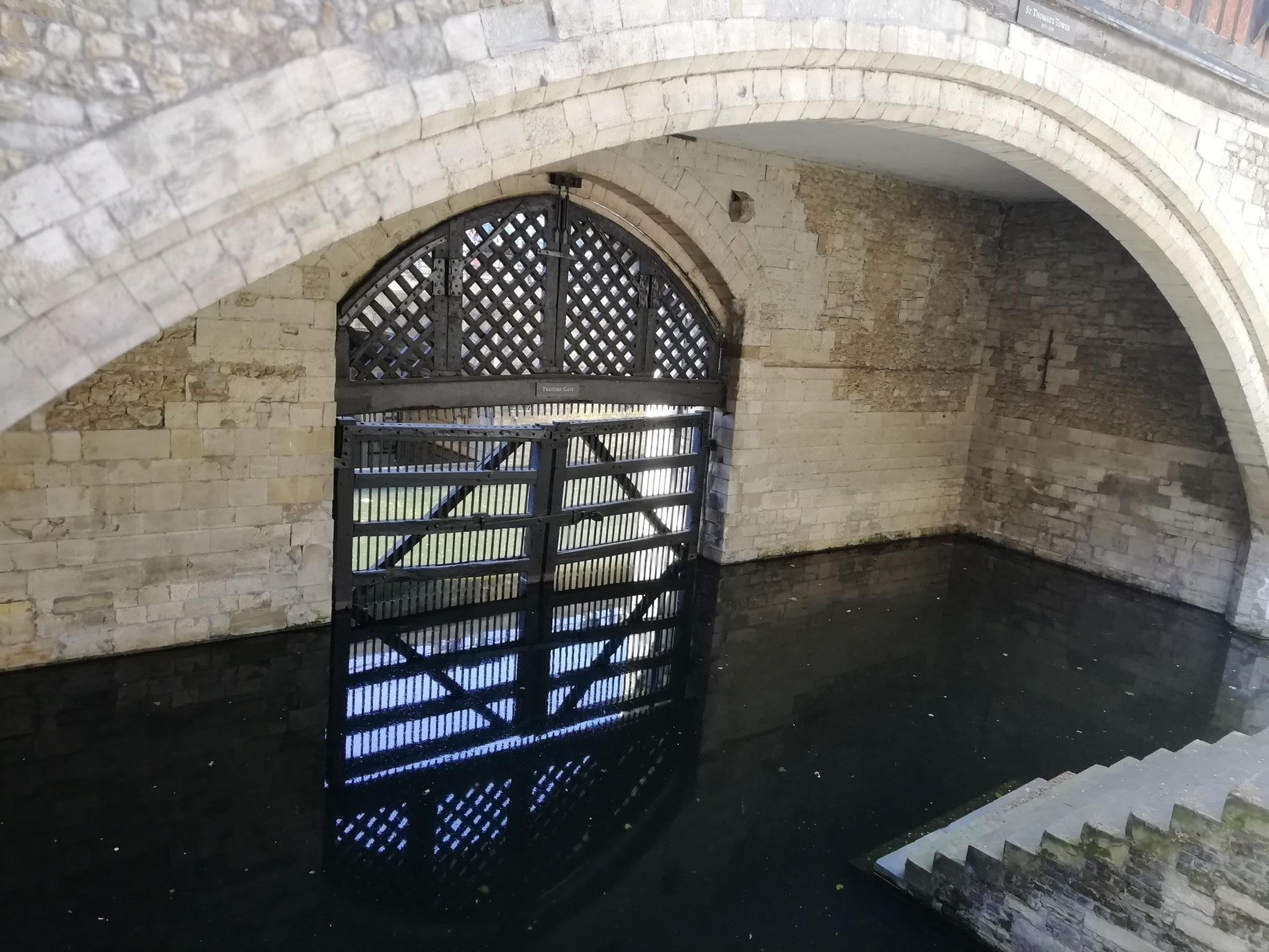 Das Traitors-Gate. Für viele der Eingang zum Ende ihres Lebens ...