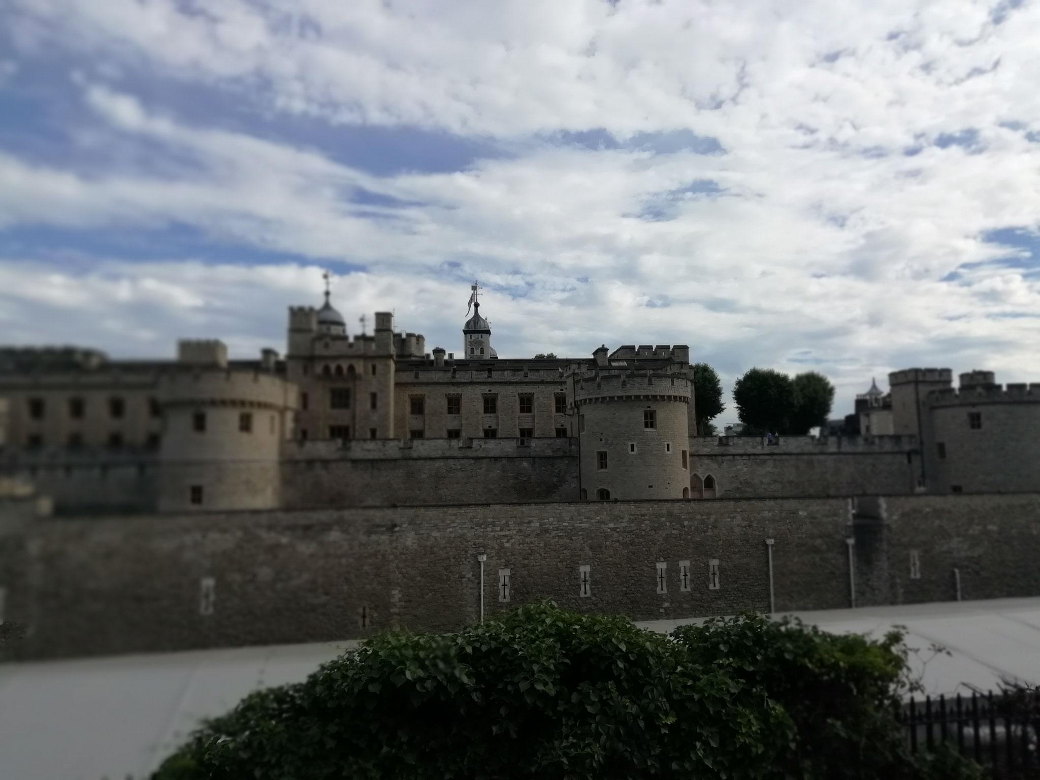 Der Londoner Tower in seiner ganzen Pracht!