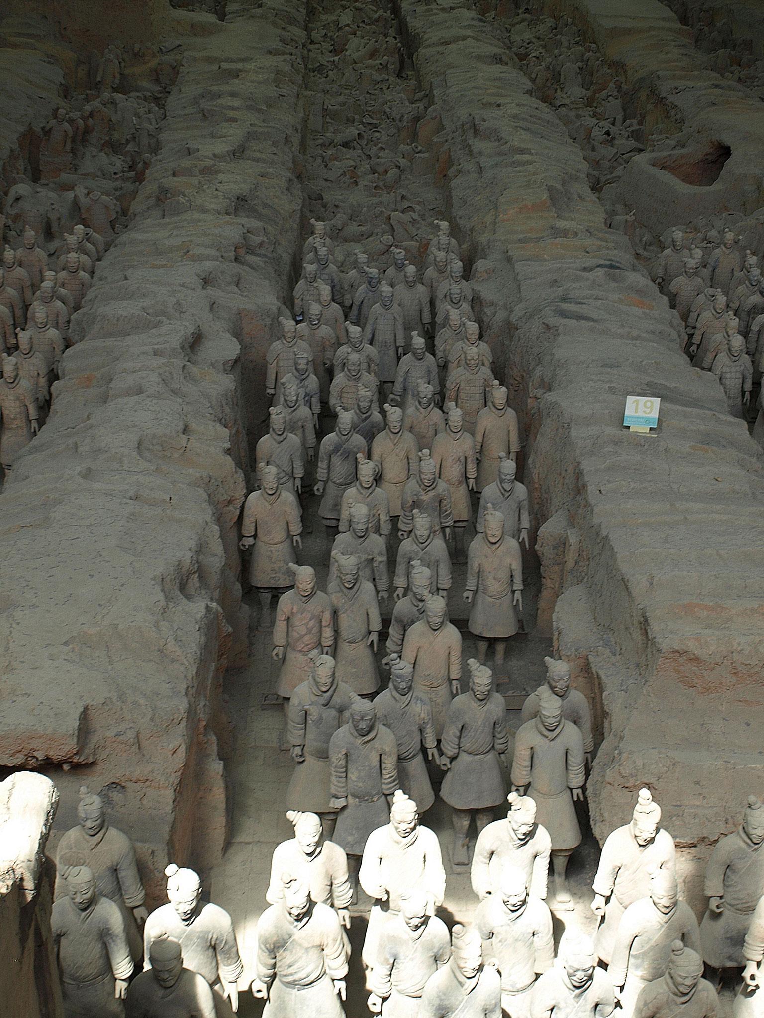 Armée de terre cuite Xi'An (Chine)