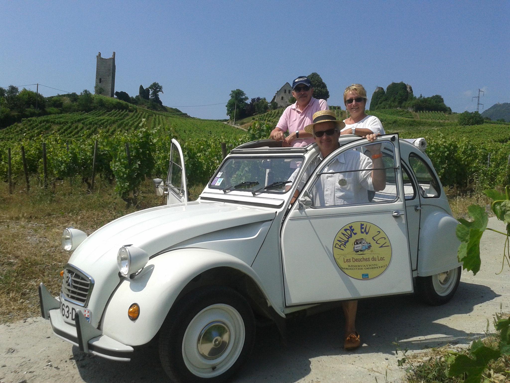 vin de Savoie, œnologie, Tours de  Chignin
