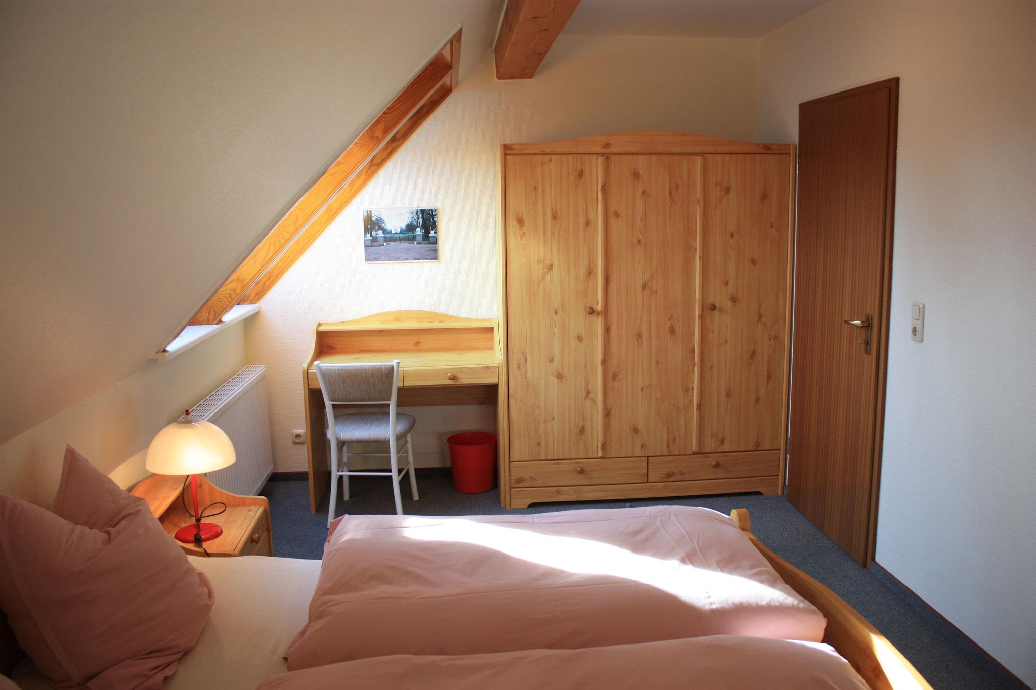 Schlafzimmer FeWo Nr.4