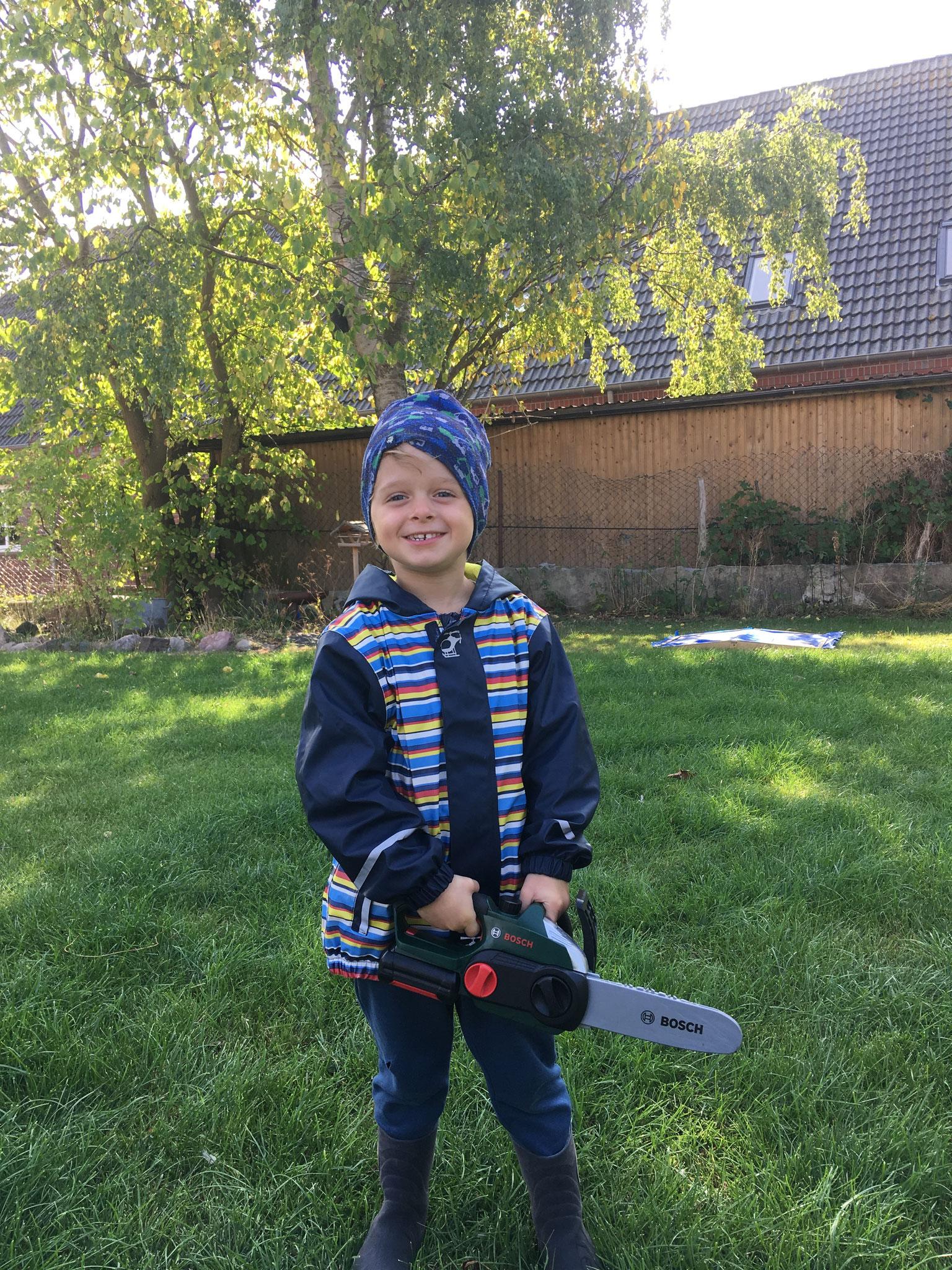 Unterstützung bei der Gartenarbeit