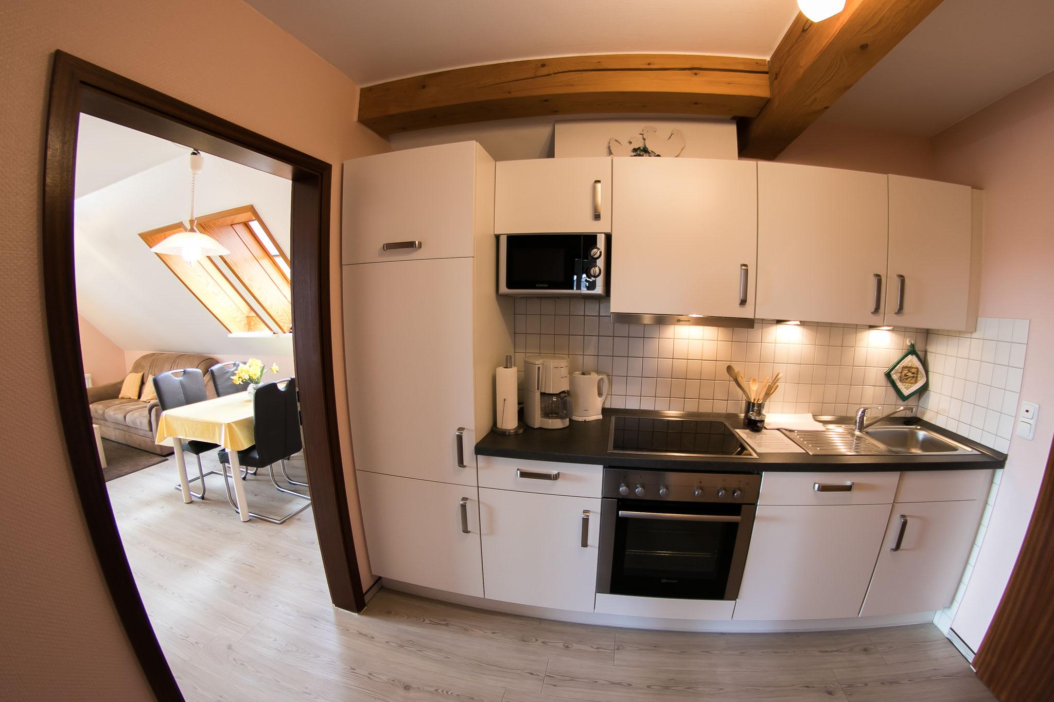 Küche FeWo Nr. 3
