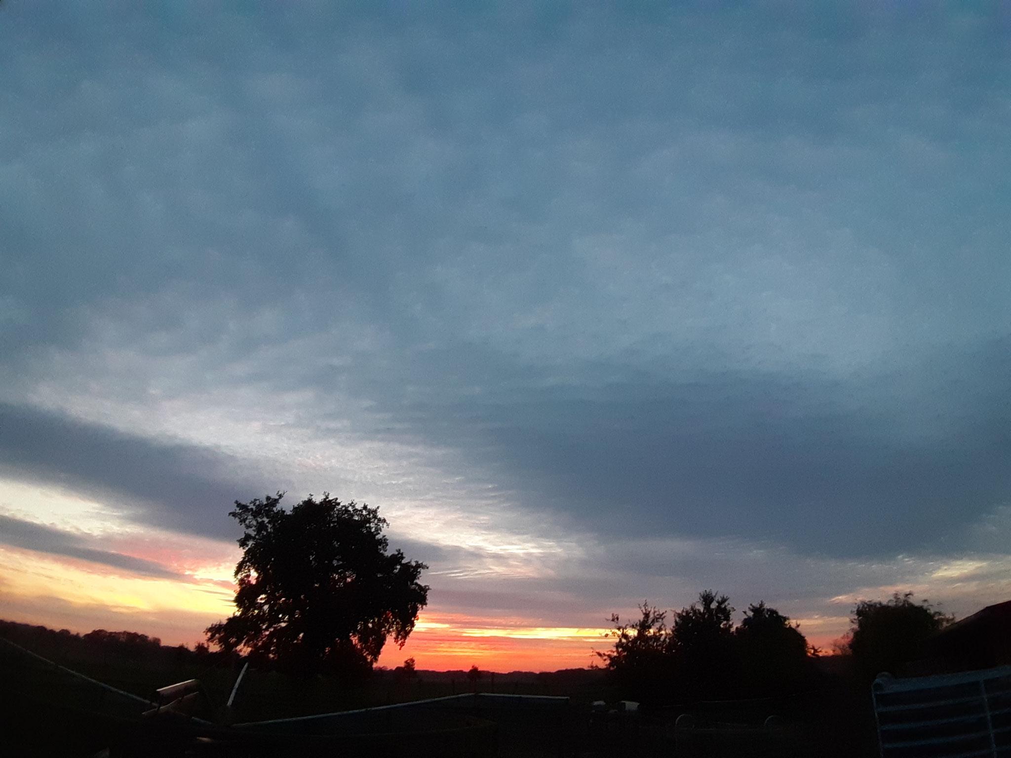 Auch in diesem Jahr gab es wieder unzählige tolle Sonnenuntergänge und....
