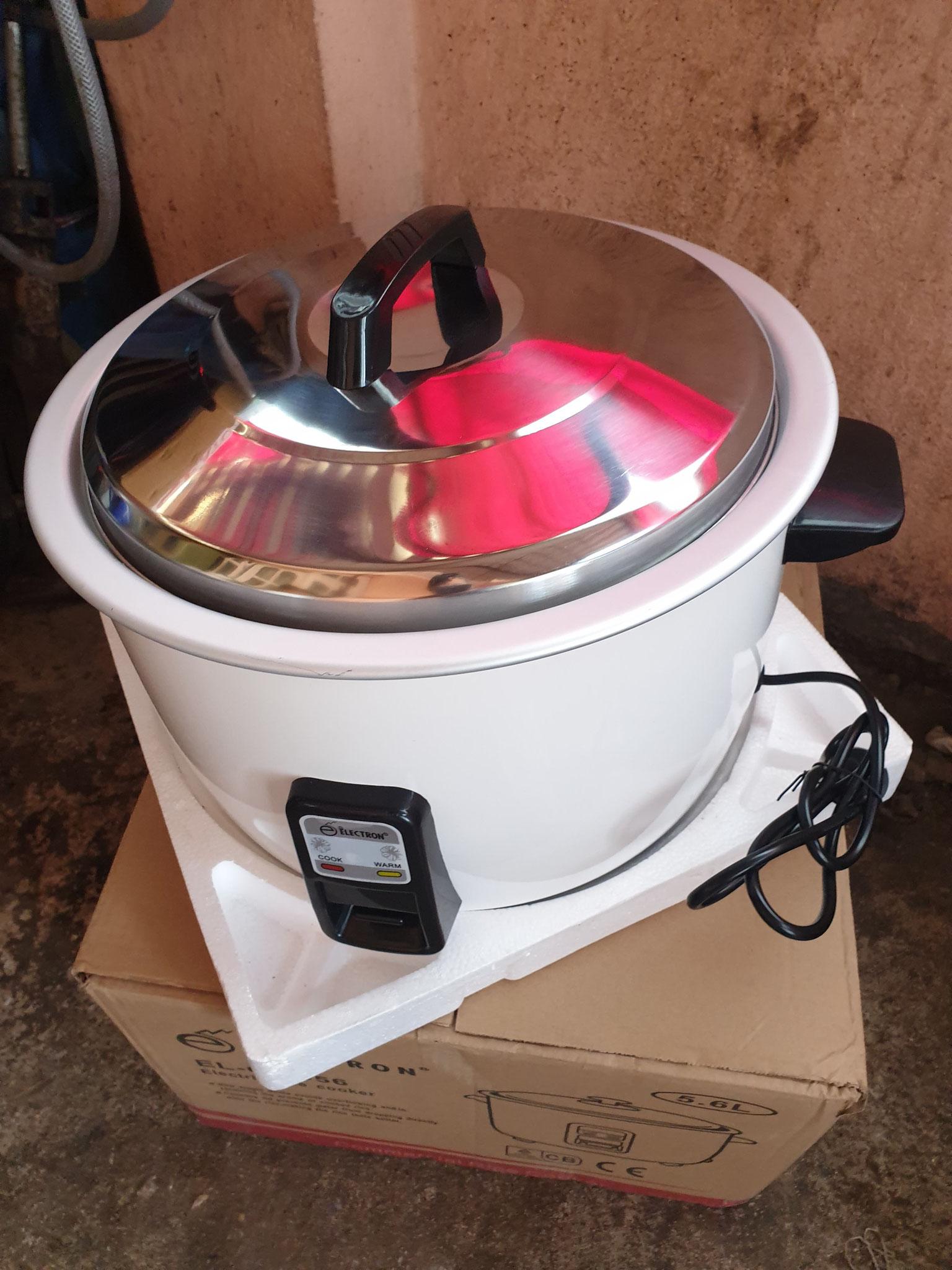 ein Reiskocher - dringende Neuanschaffung im Haus