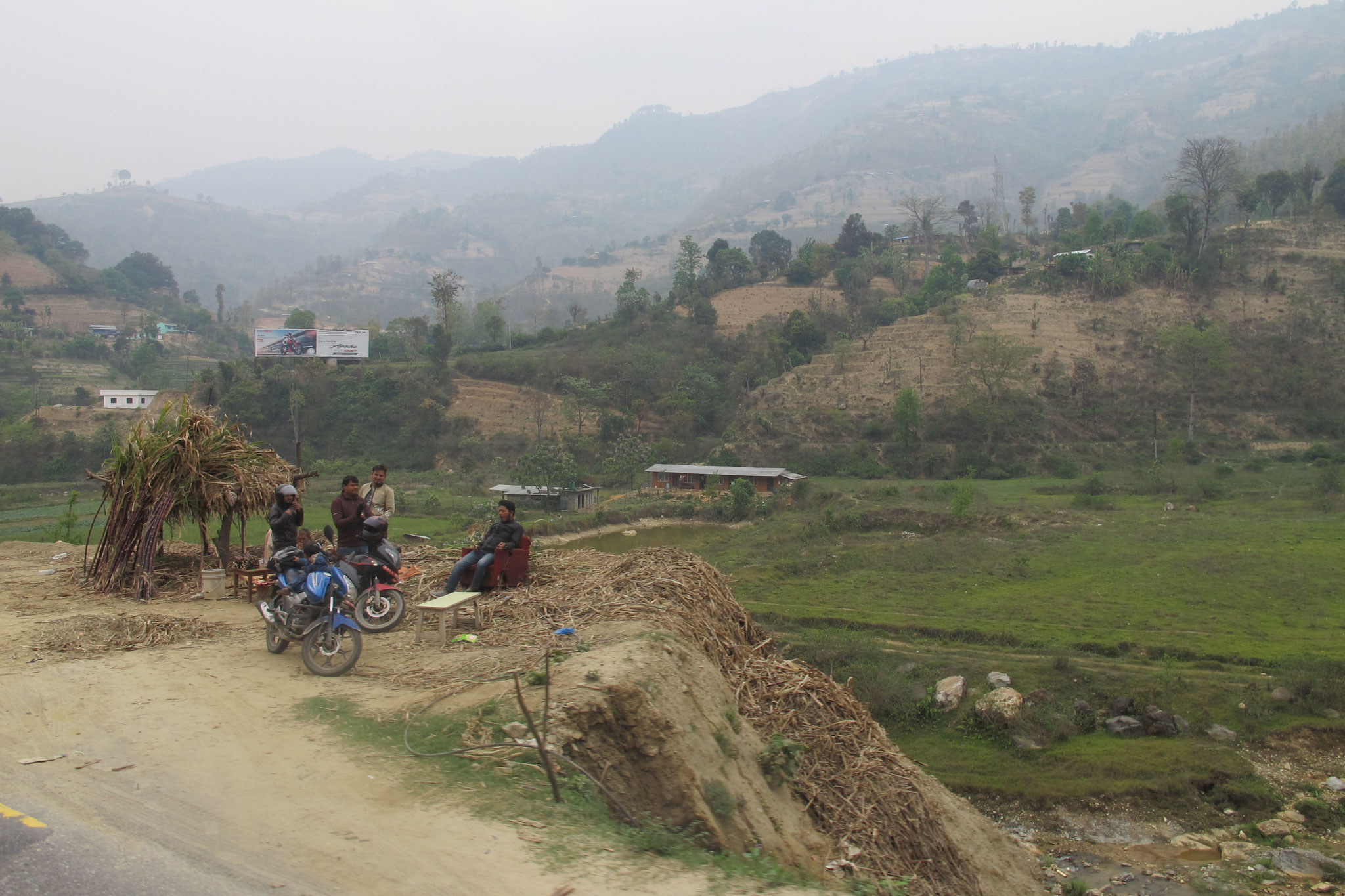 on the way to Chitwan