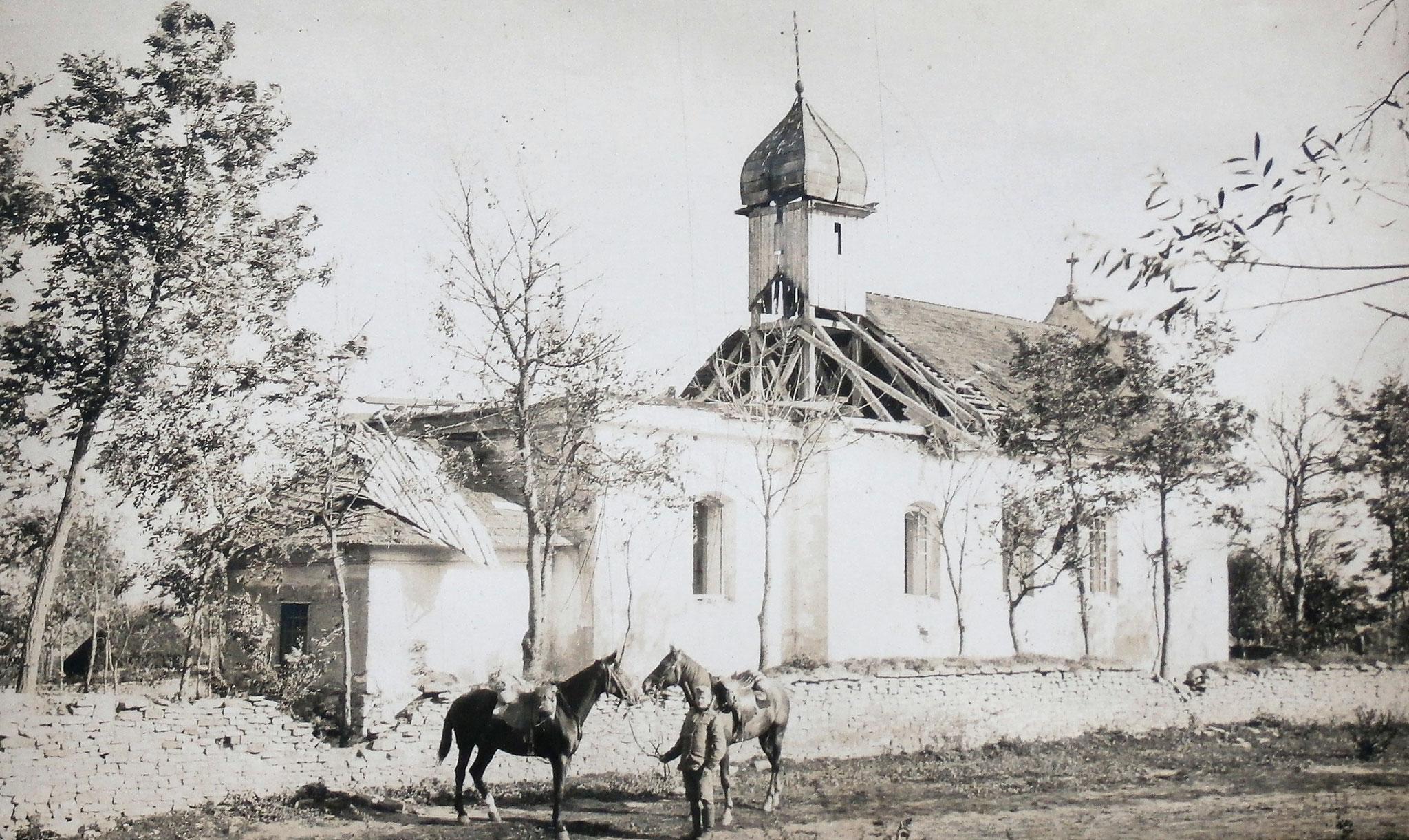 Kirche von Dabki, östlich Czernelica