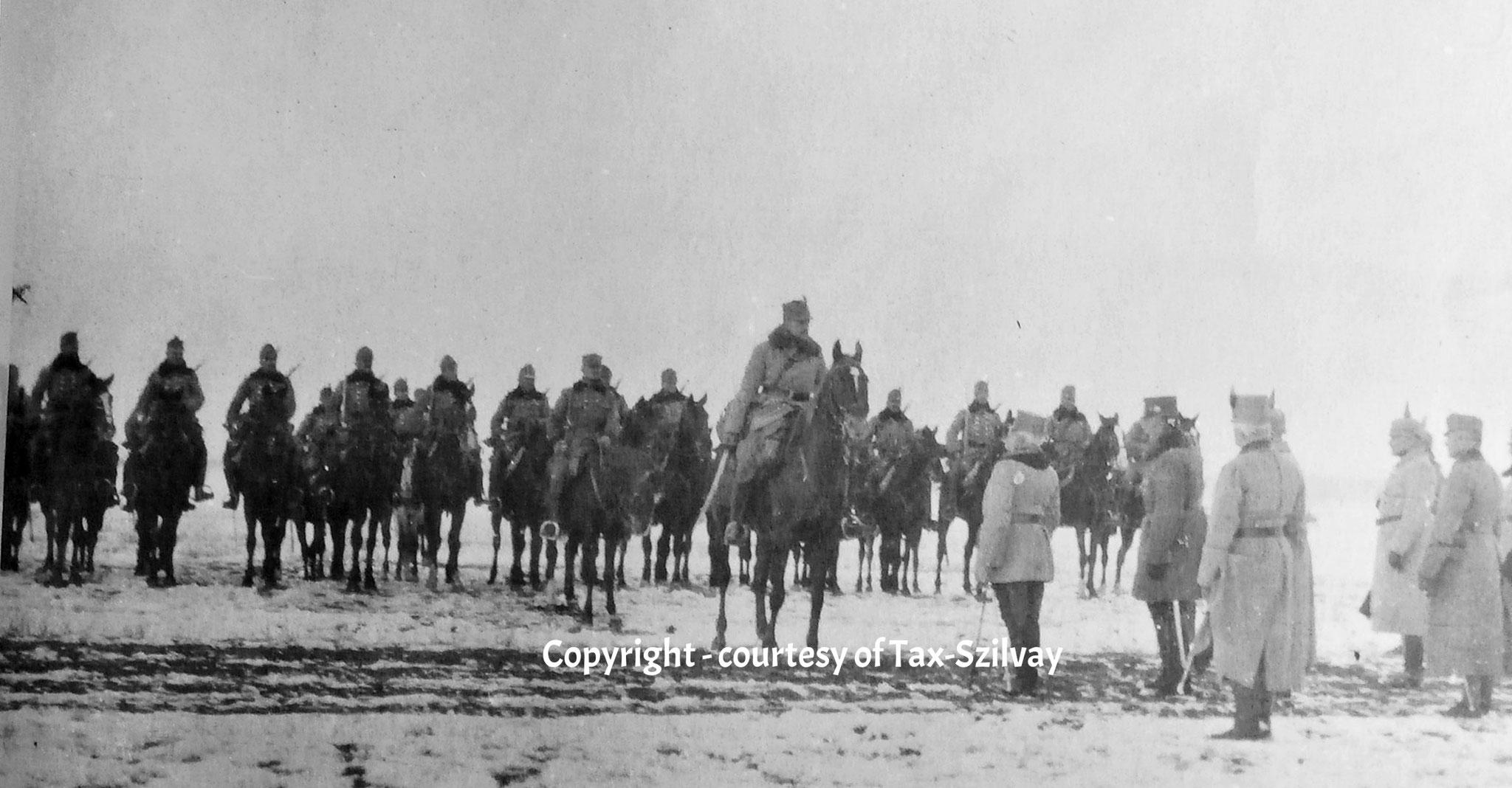 05. März 1916 Besichtigung Armeekdt Erzherzog Friedrich bei Goloby