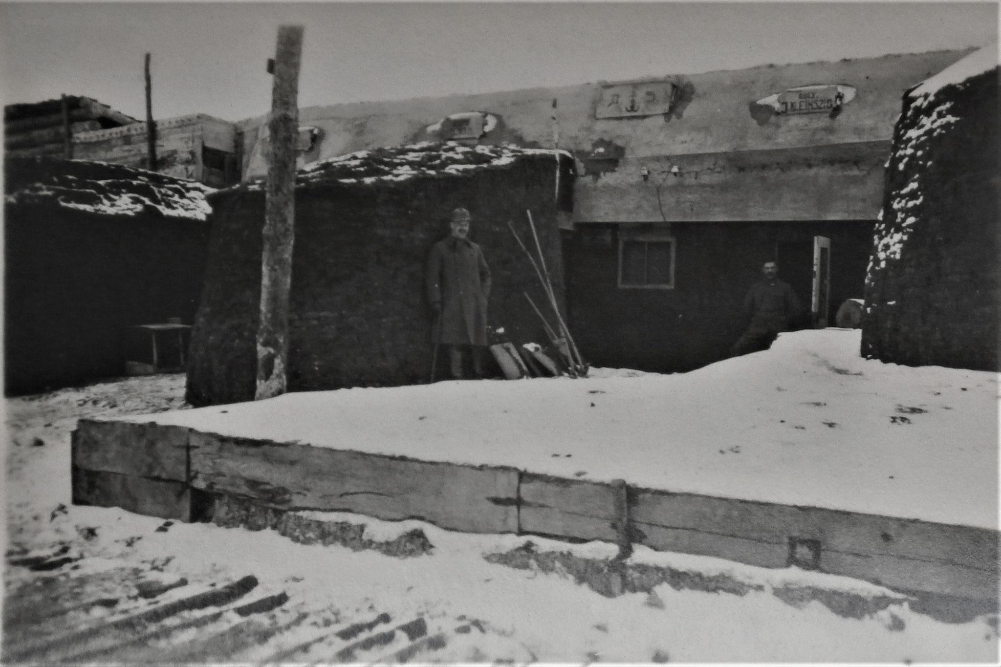 Winter 1917-18 RgtKdo Wysocko, verm Kleinszig.