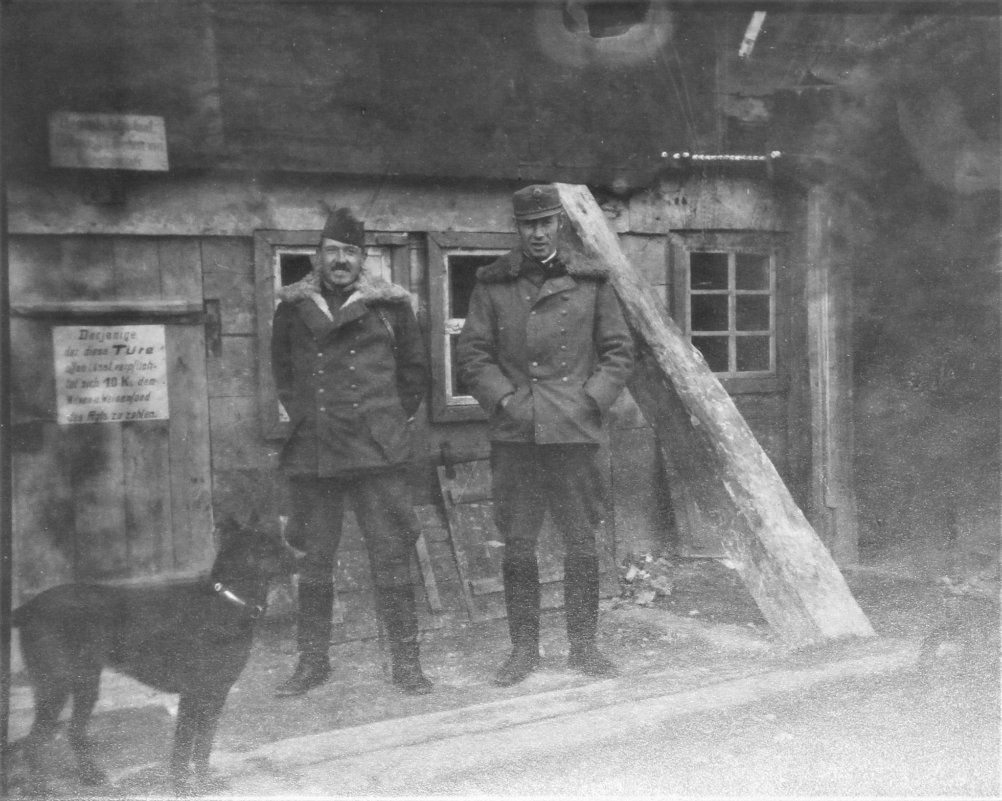 Rgtkdo Wysocko 1917 (verm. mit Kleinszig).