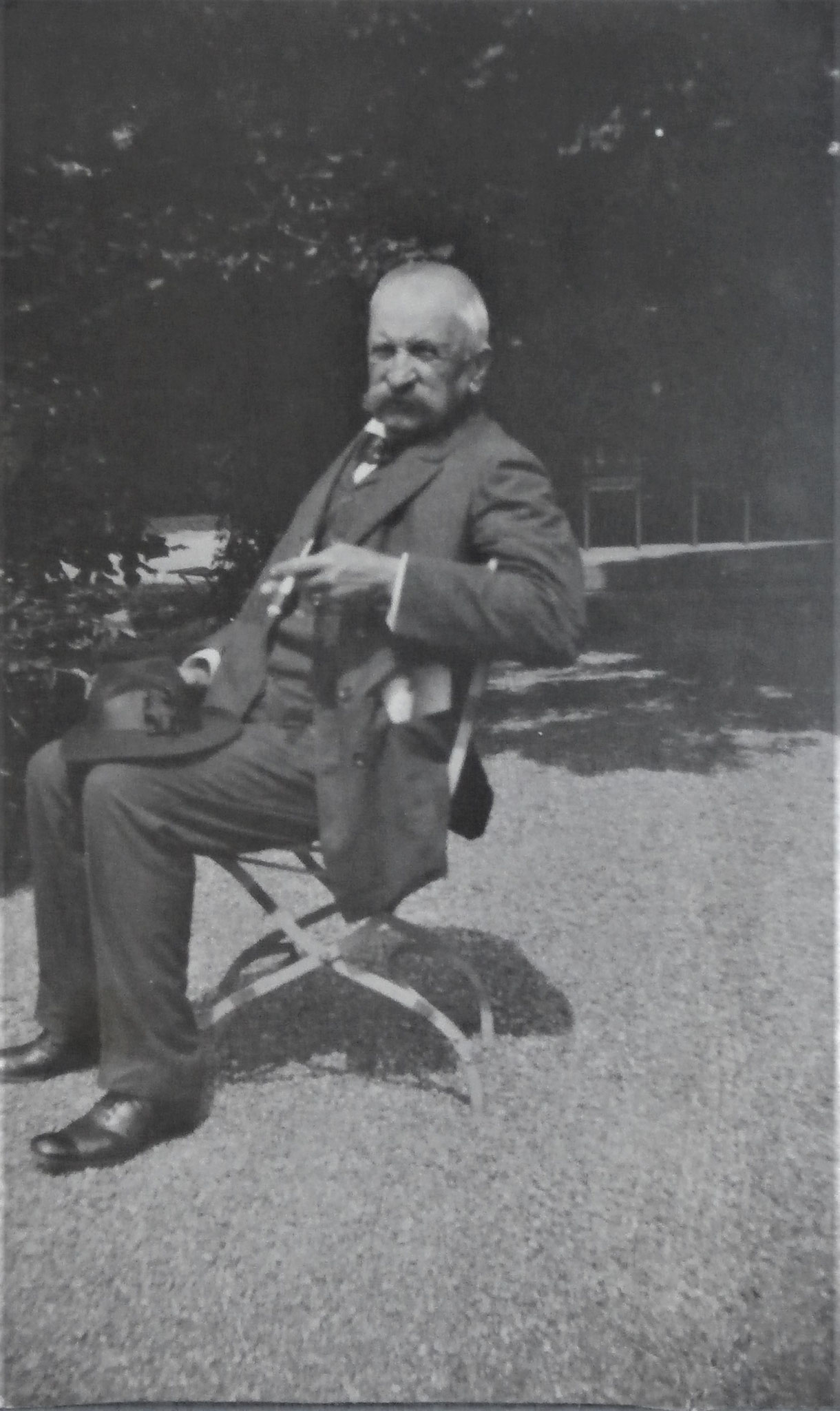Juli 1906, 1 Monat vor seinem Tode.