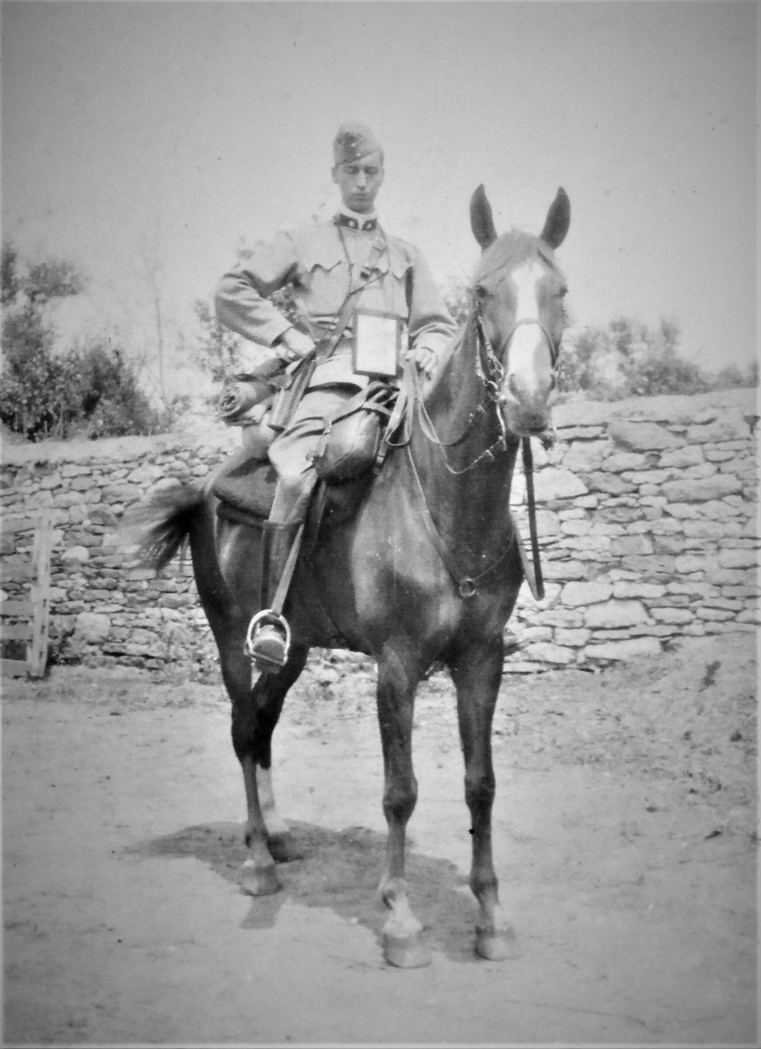 Lt. Nedwed (1. Zug d. 3. Esk).