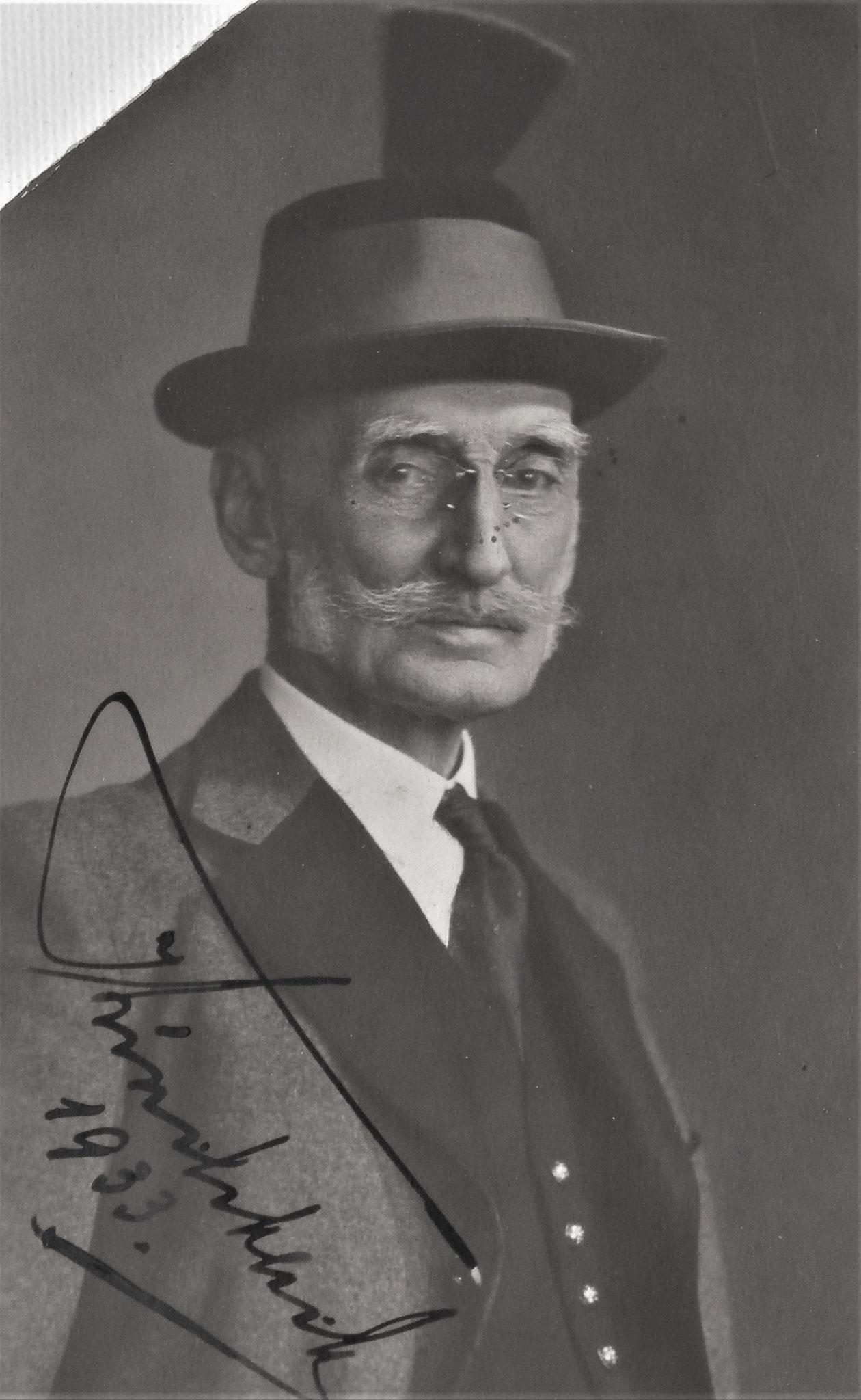GenObst Karl Kirchbach 1933, 1900-1904 Kdt DR 5.