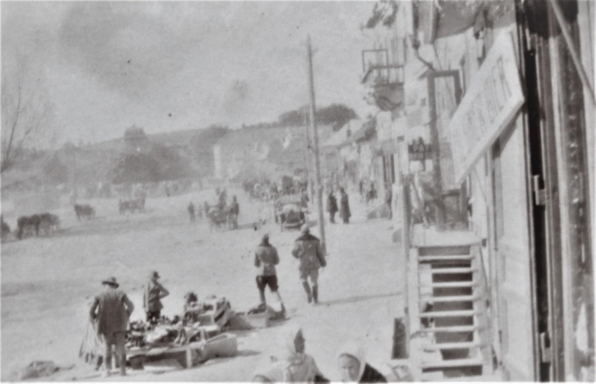 Hauptplatz von Homona.