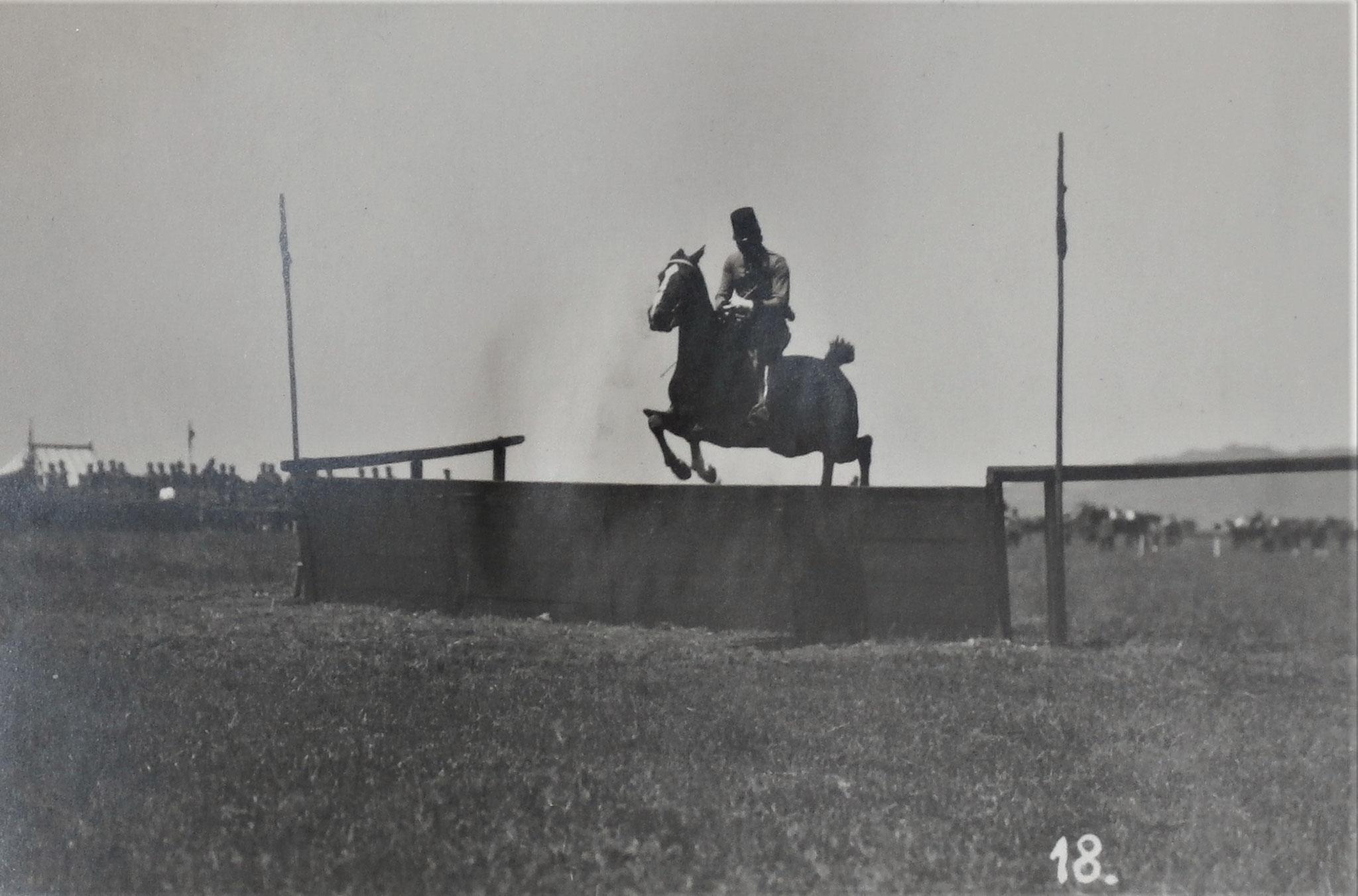 Oberleutnant Pippal auf Prince