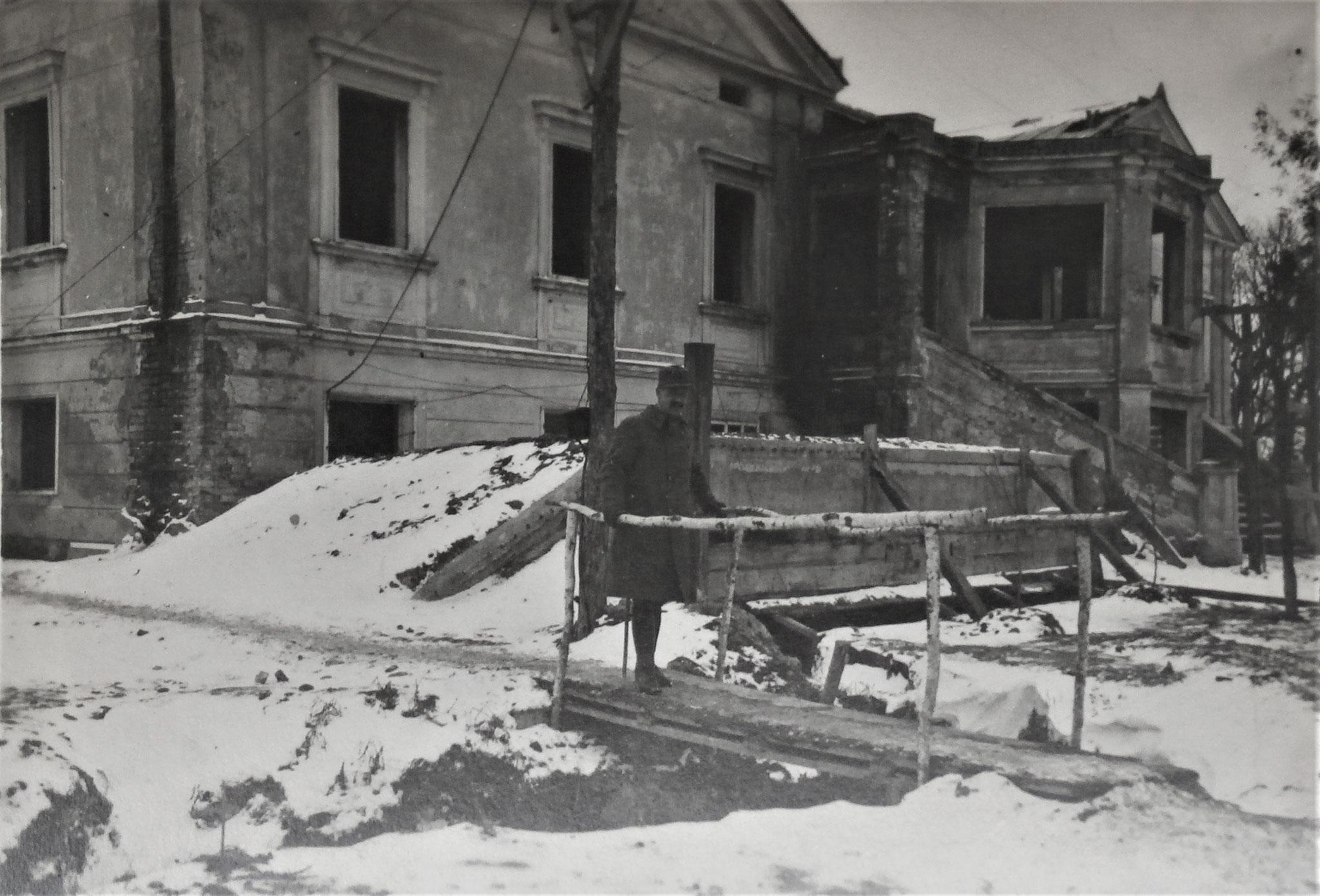 Sitz des Kampftruppenkmdos D5.
