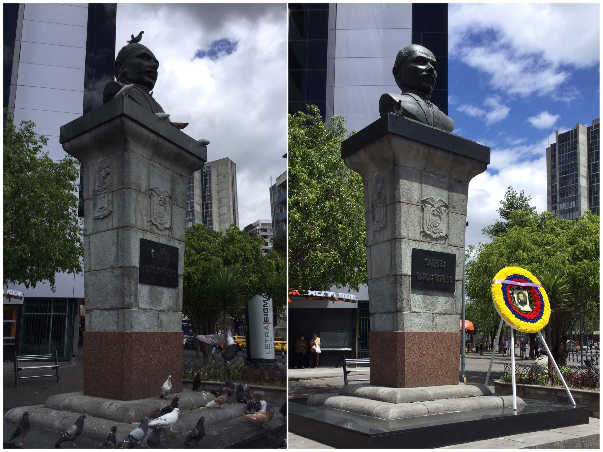 Antes y después de la campaña