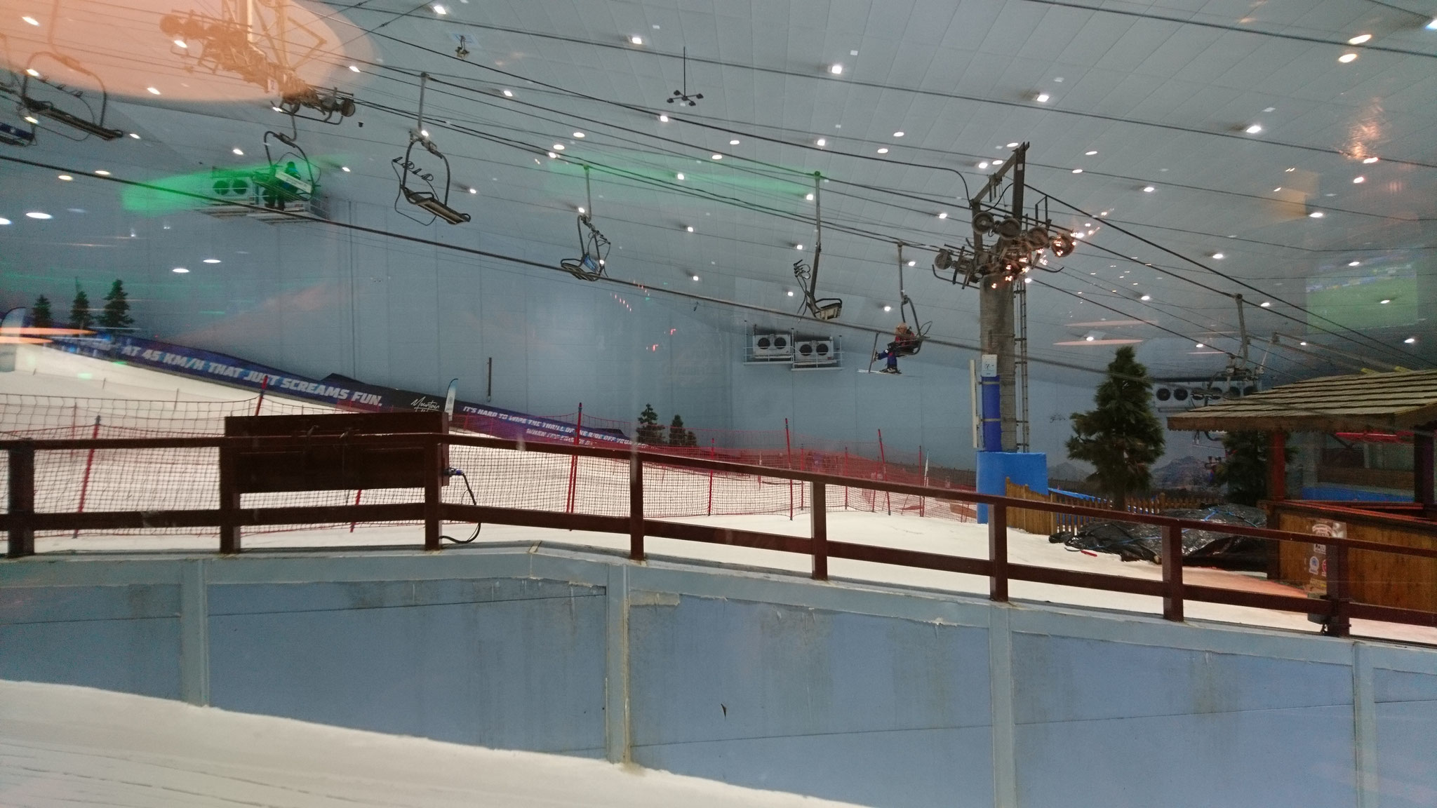 Skihalle....