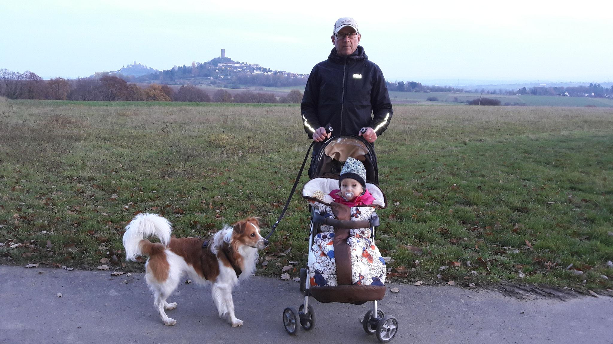 Mit dem Leakind spazieren gehen