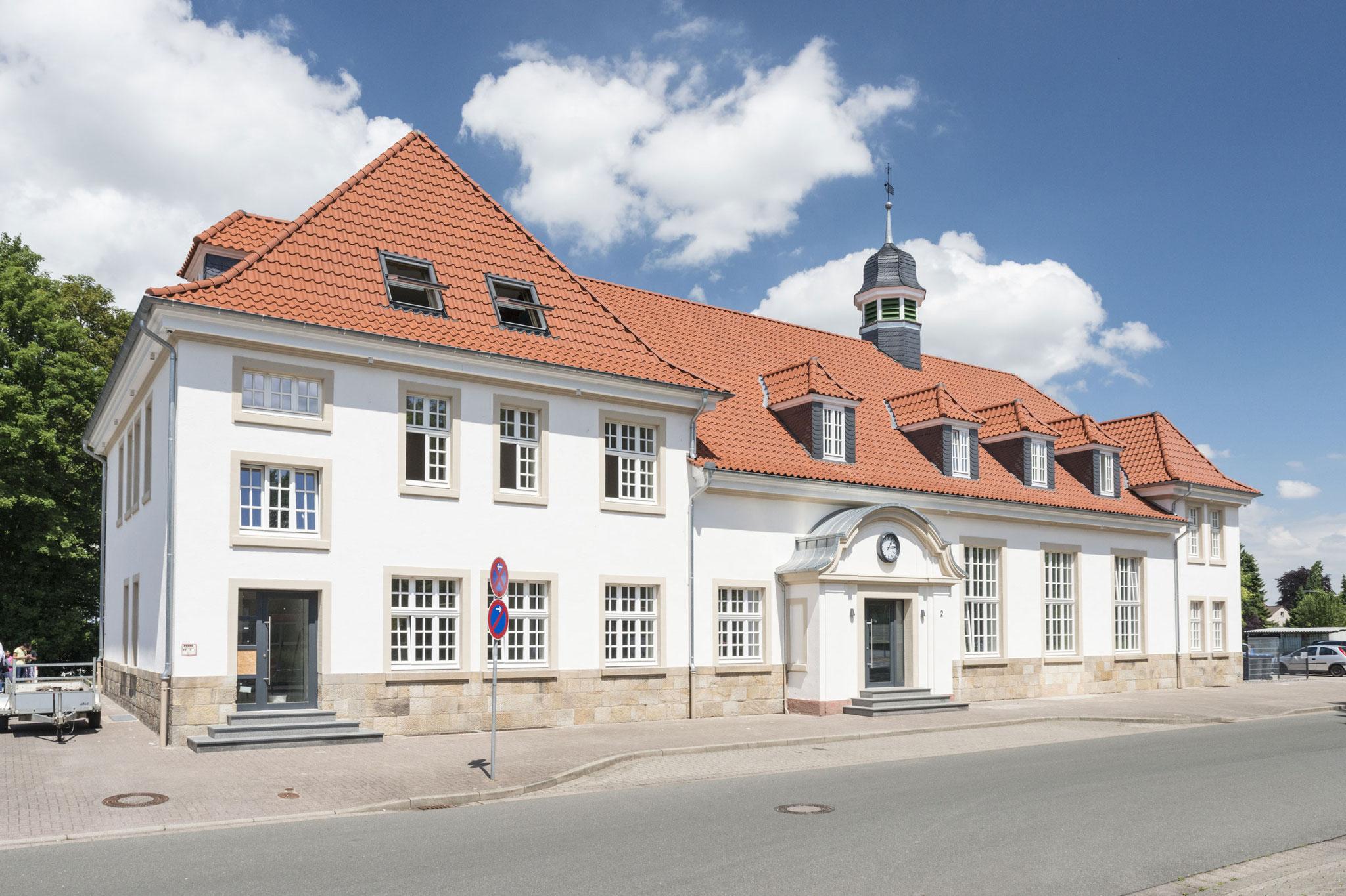 Lübbecke, Empfangsgebäude