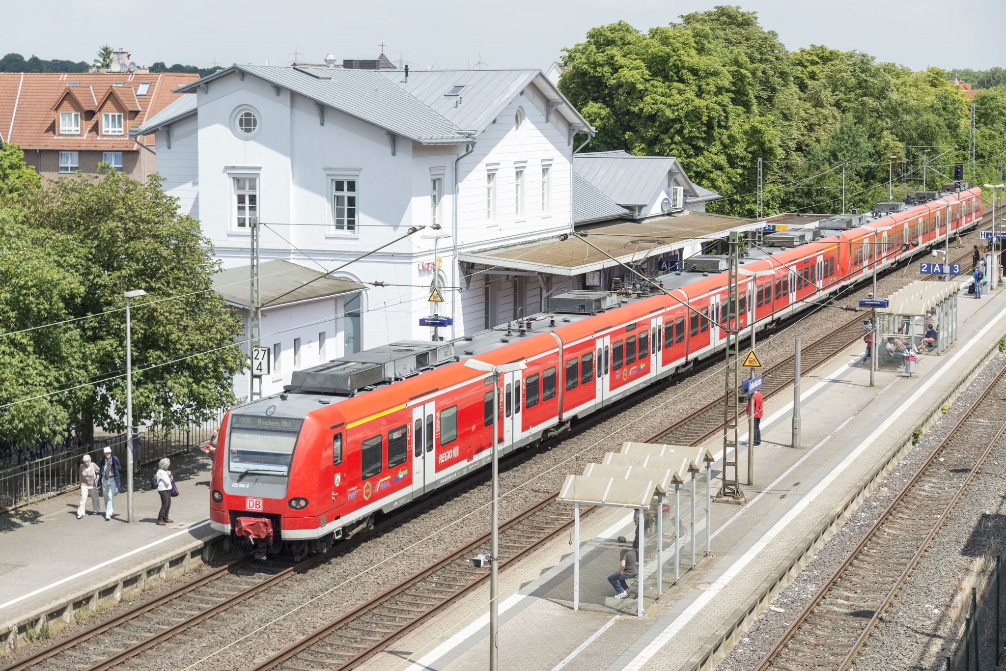 Geilenkirchen, Bahnhof