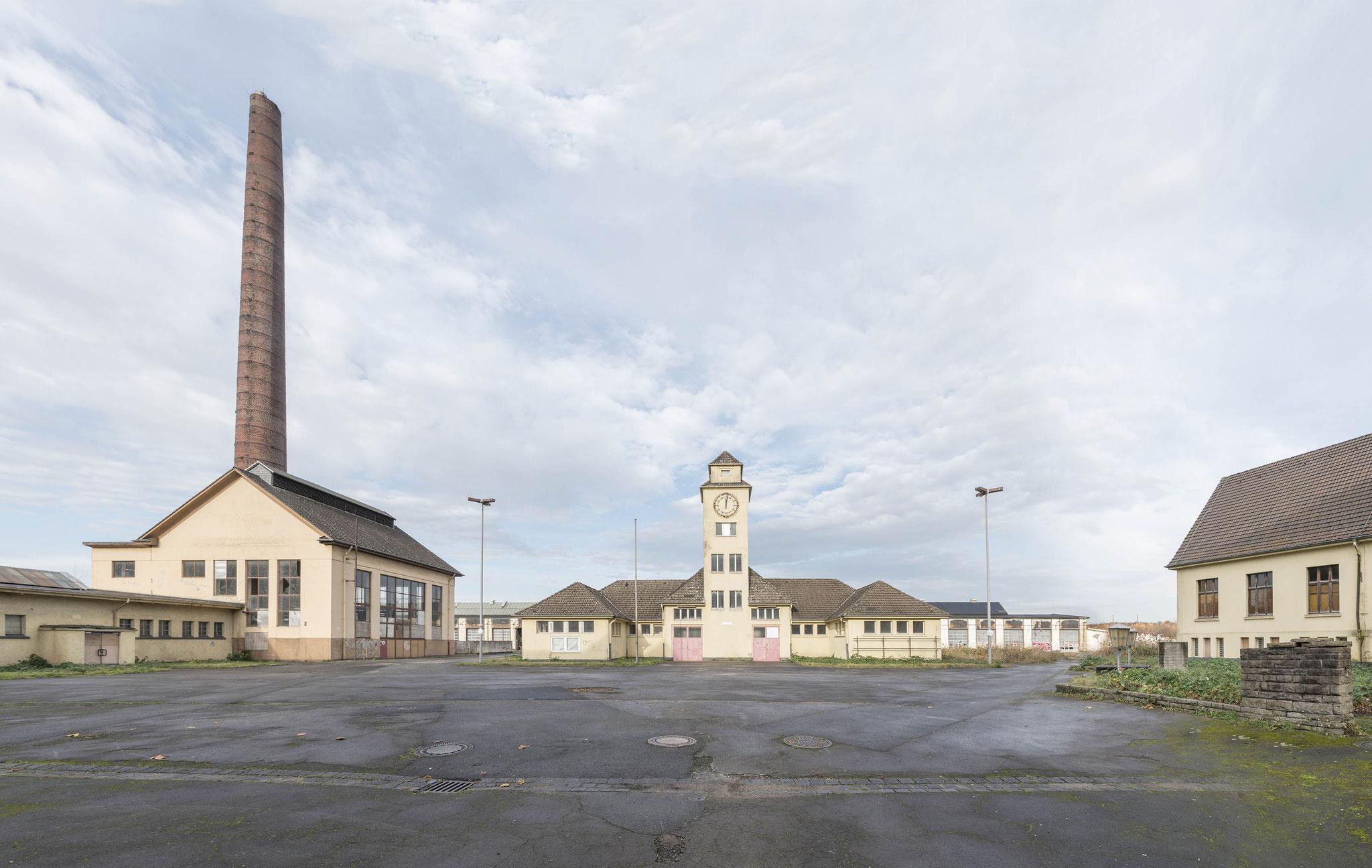Duisburg-Wedau, Ehemaliges Ausbesserungwerk