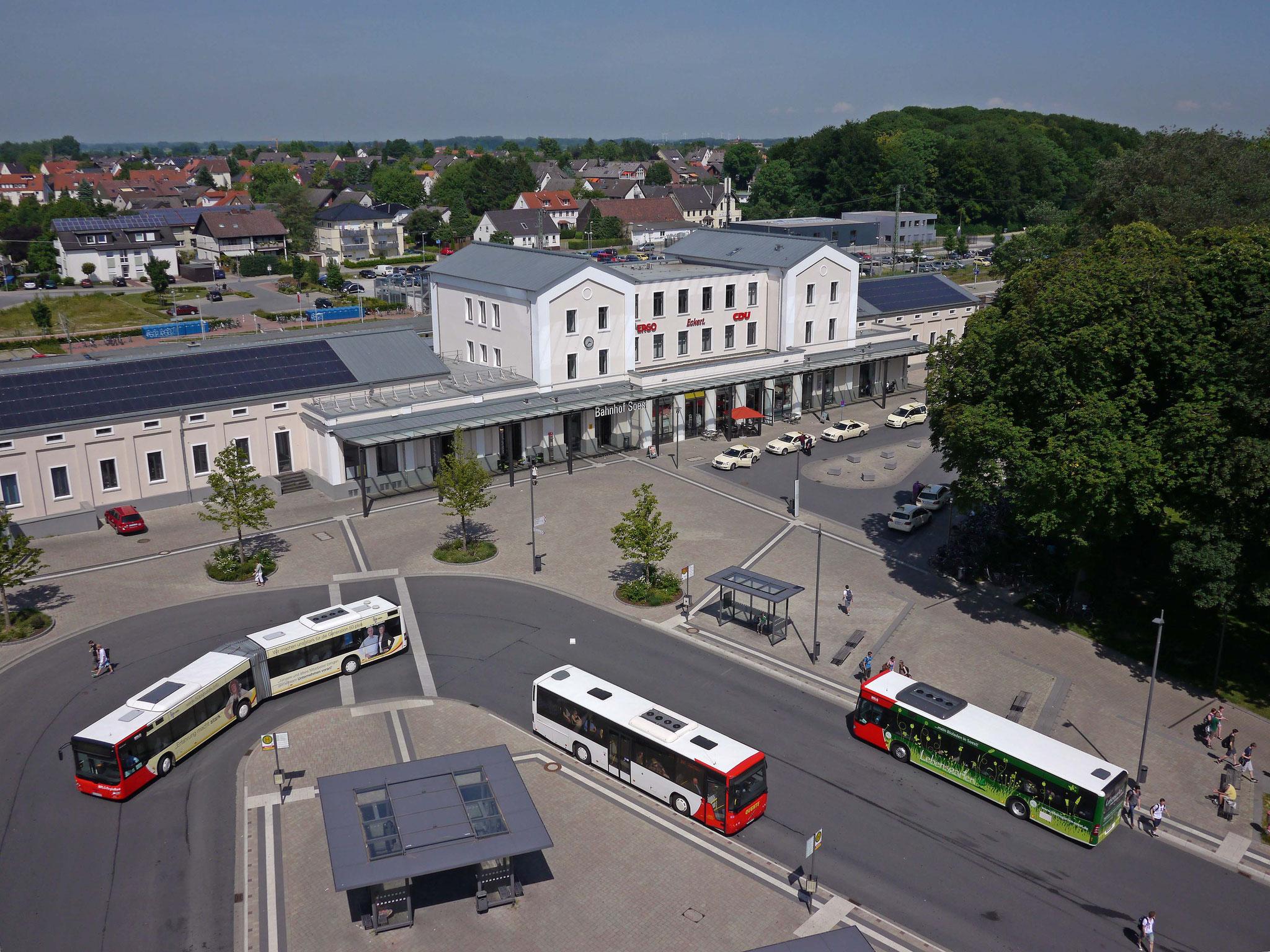 Soest, Bahnhofsumfeld