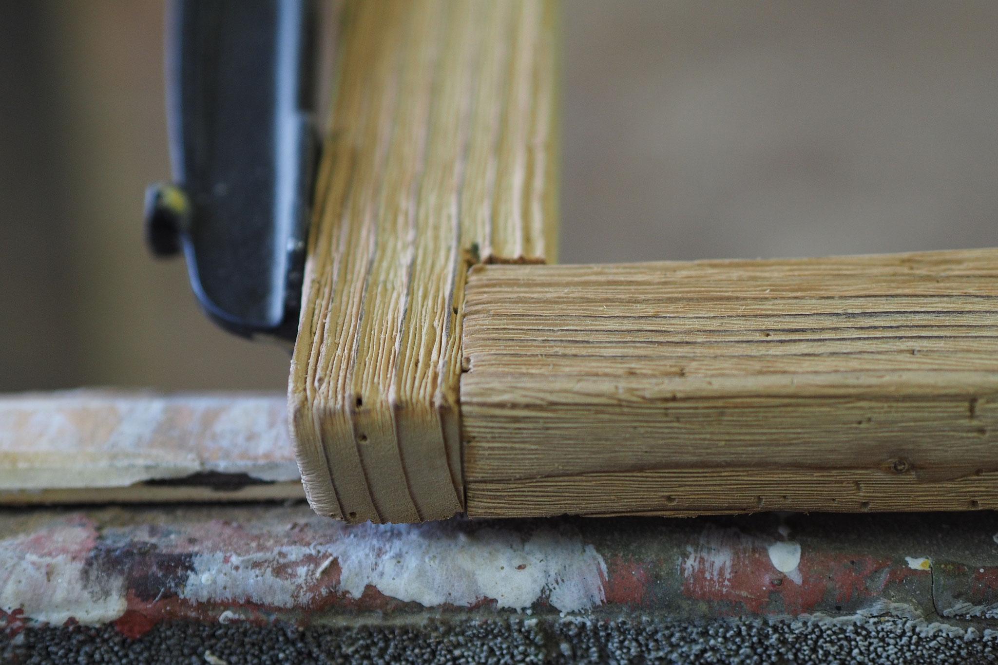 Kreidetafel bauen Altholz