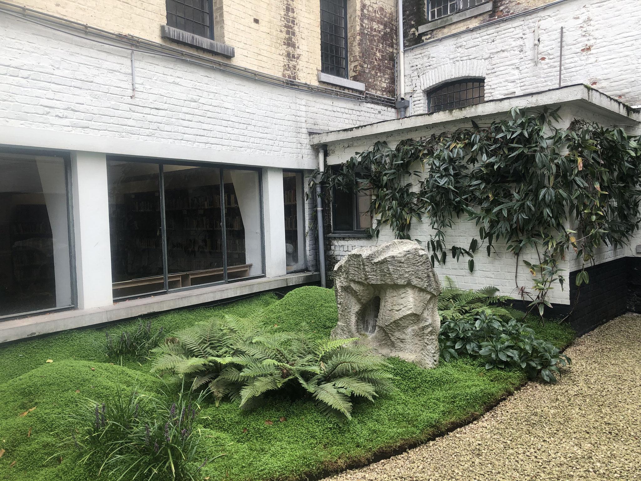 Cour de 60m2 - Style japonais - Année 2. Amenagement jardin Bruxelles