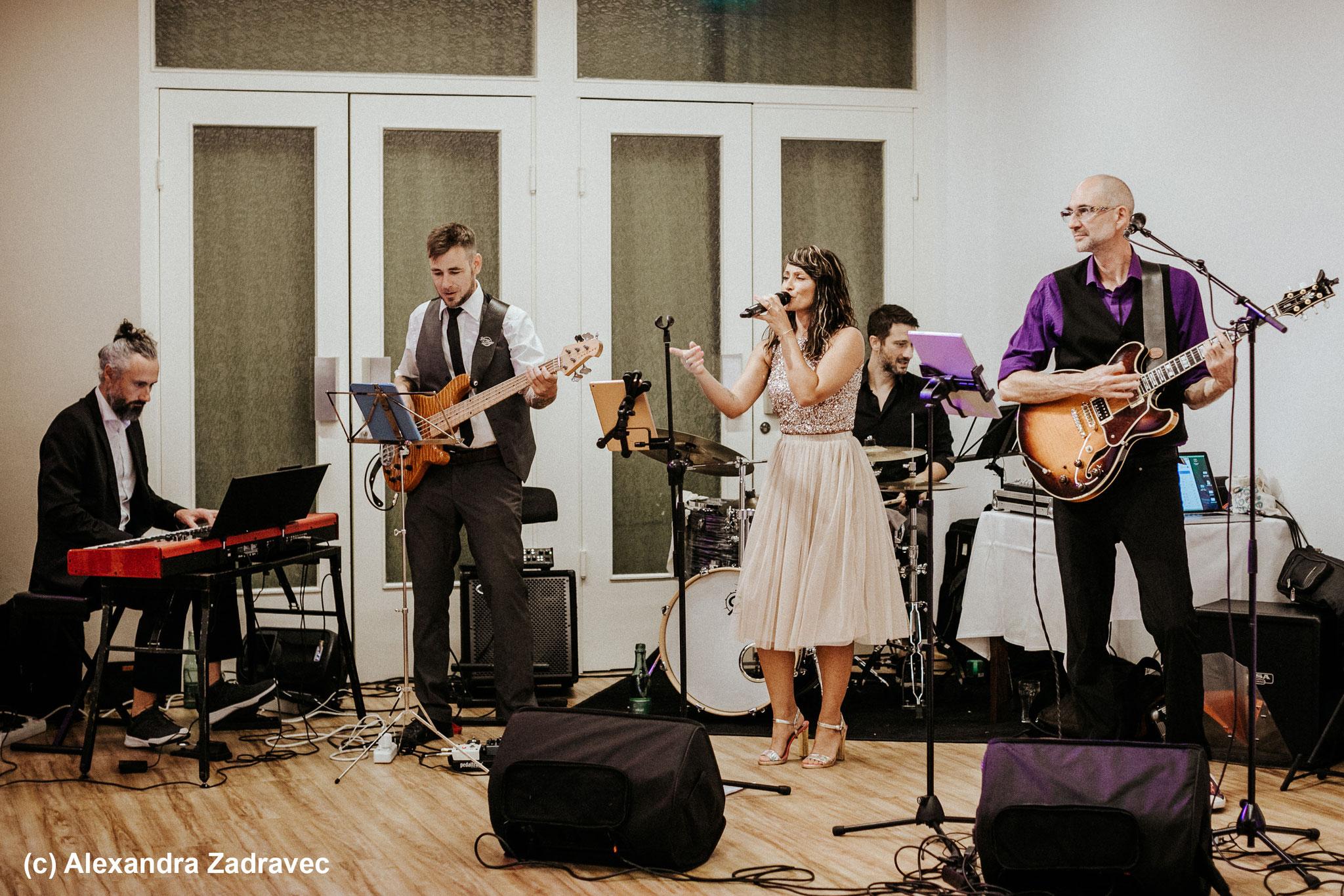 Liveband für Hochzeit