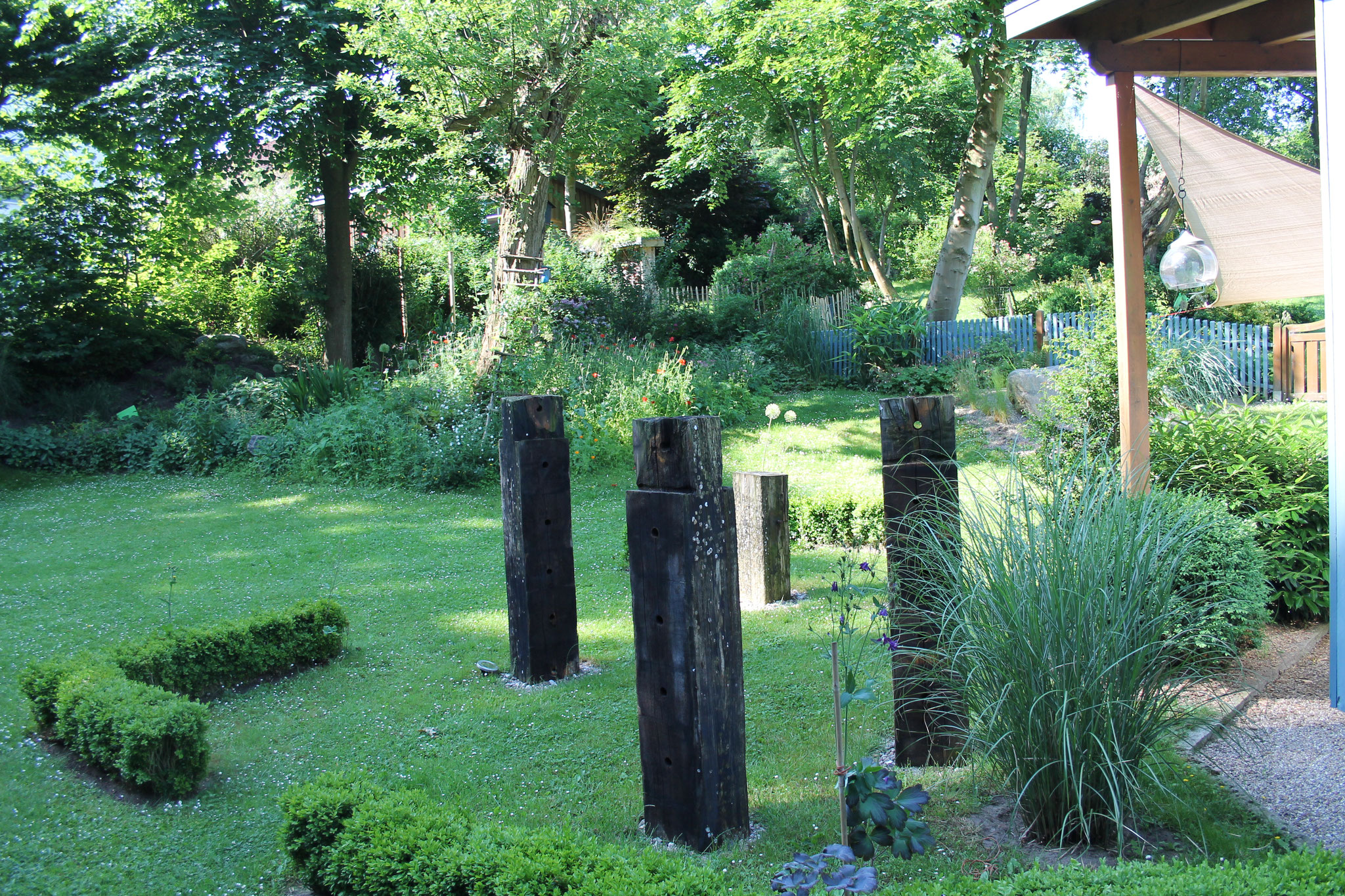 Schön Garten Mit Hang Ideen