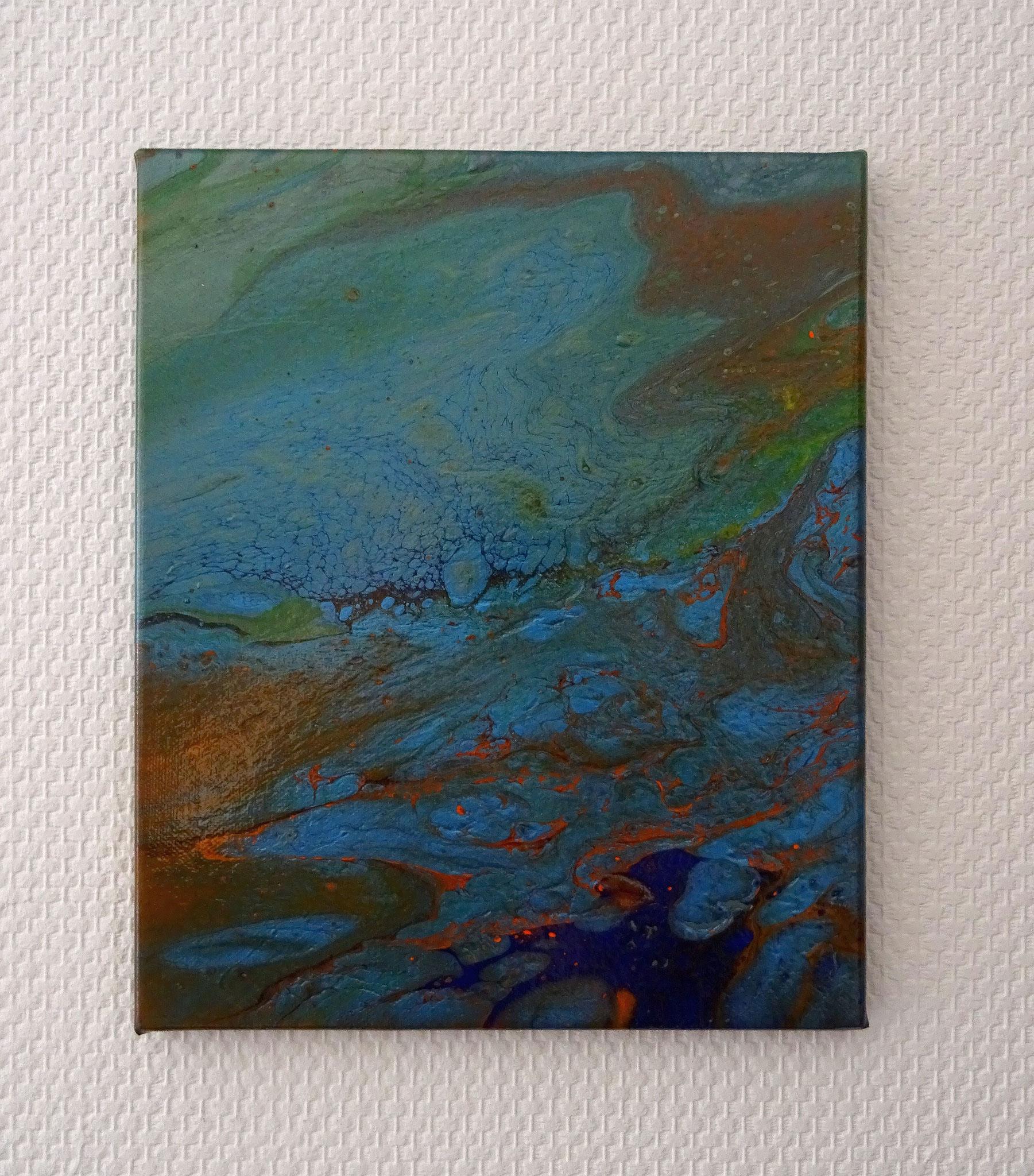Meeresschimmer (20x30x1,5)