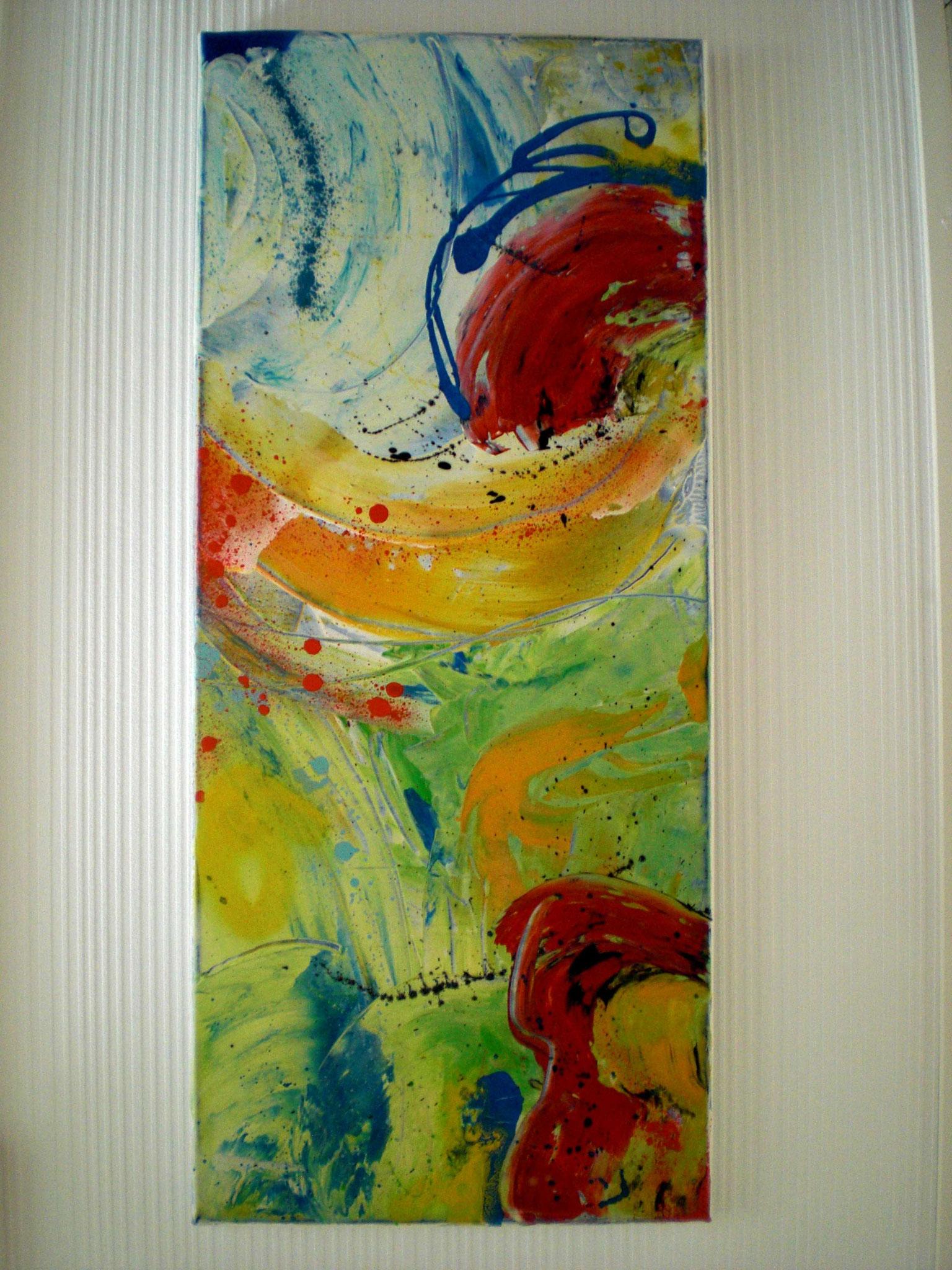 Art 5 - Mohnblumen (30x70x2)