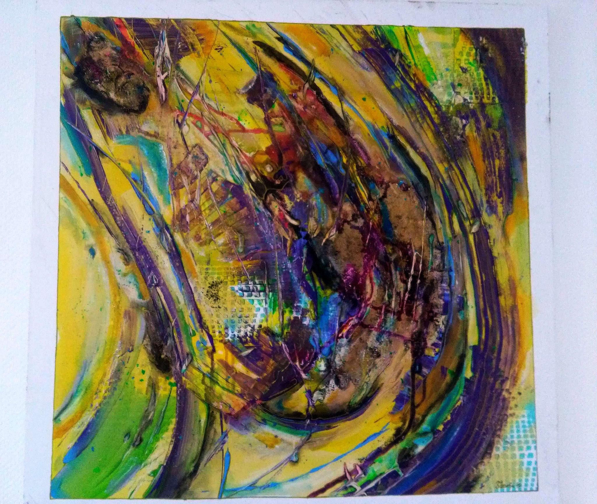 Art 15 - Steampunk (90x90x3,5) - VERKAUFT