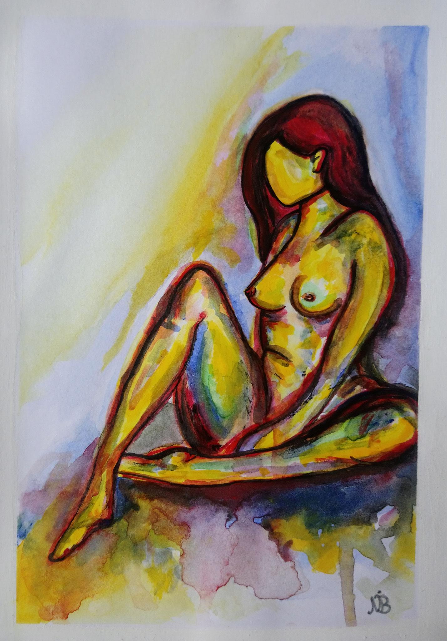 Ode an die Weiblichkeit 5  (14,8x21)  - VERKAUFT