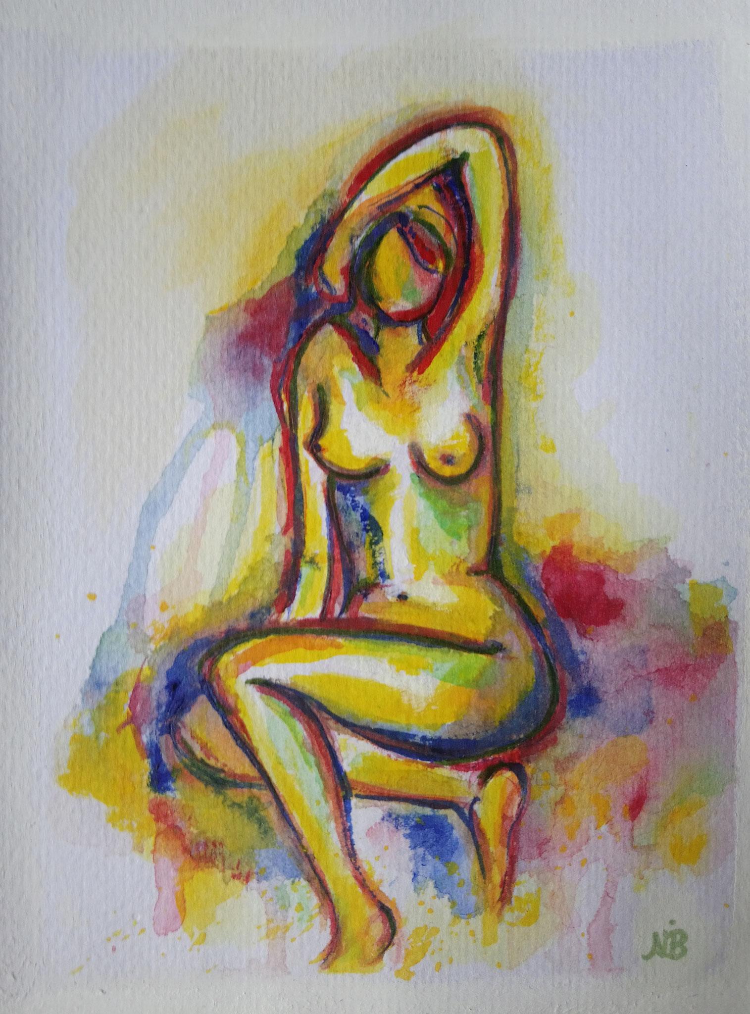 Ode an die Weiblichkeit 4  (14,8x21)  - VERKAUFT