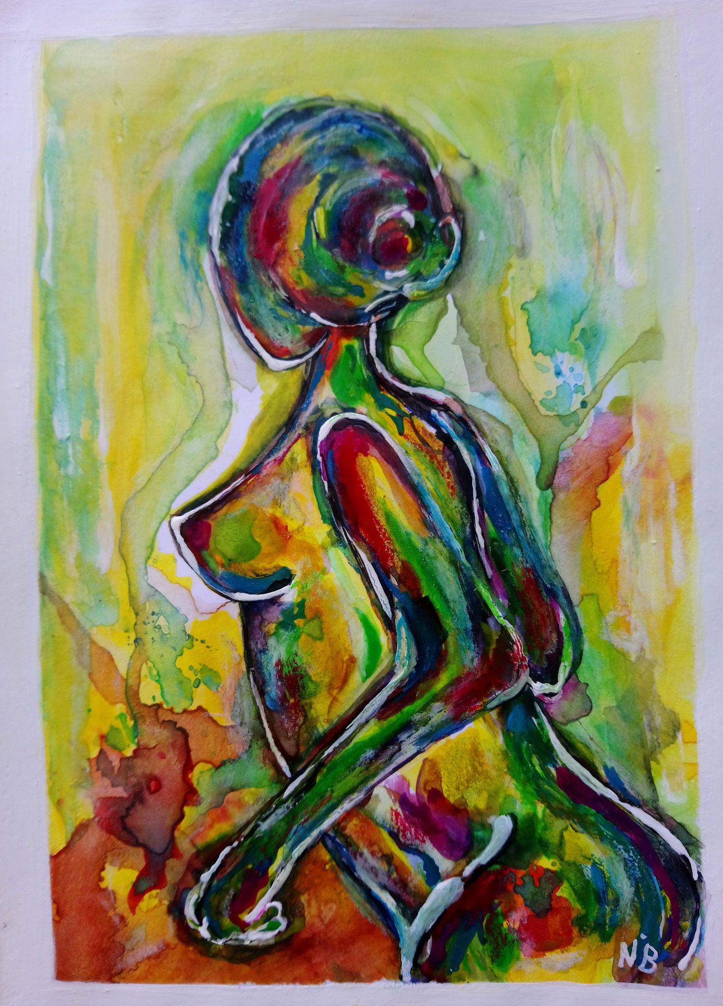Ode an die Weiblichkeit 1 (14,8x21)  - VERKAUFT