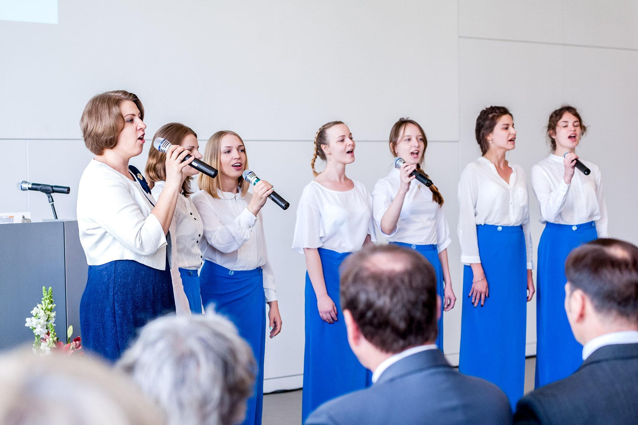 """""""Chor des deutschen Liedes""""  W. Nowgorod"""