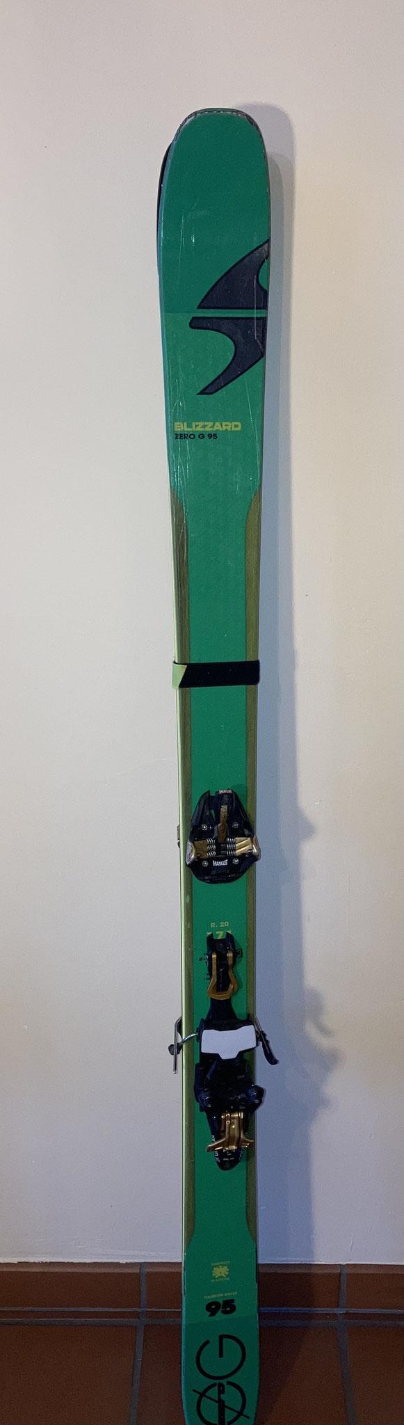 Blizzard Zero G95, Länge 171cm, Waist 95mm, Bindung Marker Kingpin