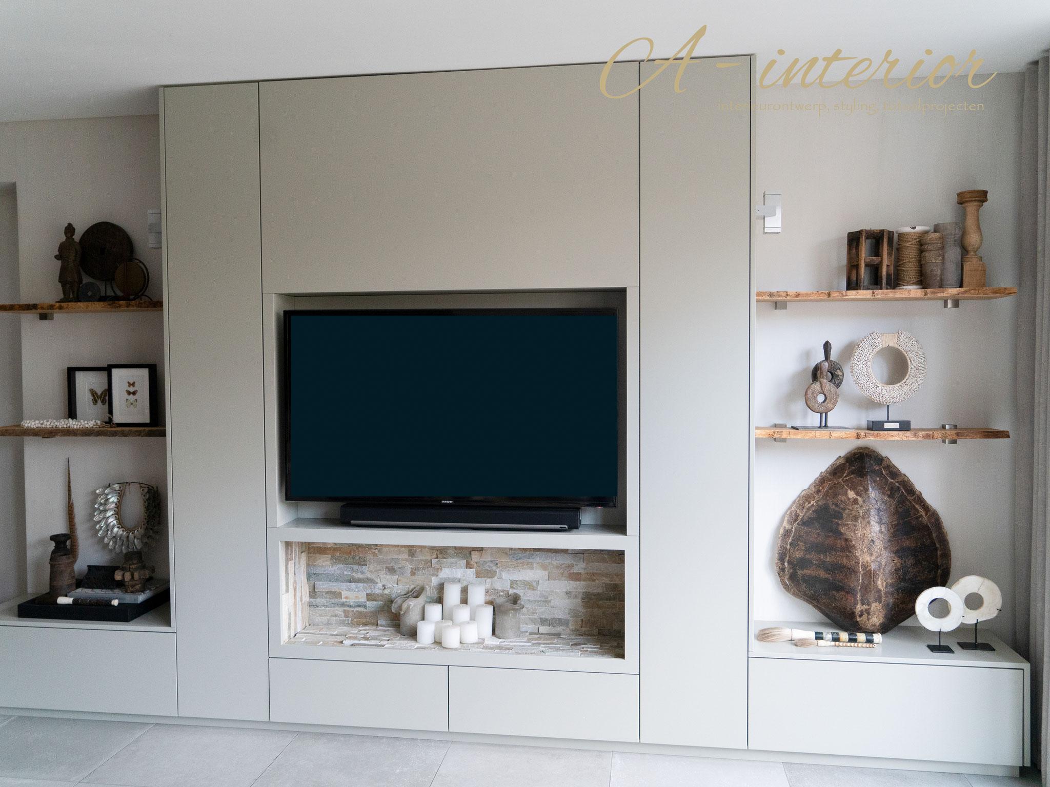 Mooi Houten Tv Meubel.Meubelontwerp A Interior Interieurdesign