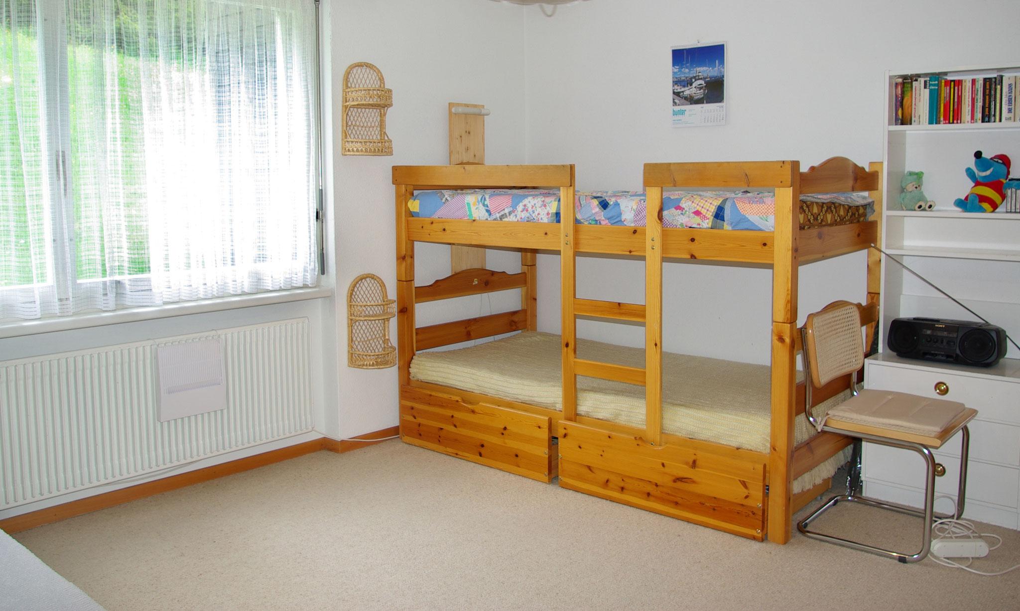 Kajütenbett im Schlafzimmer
