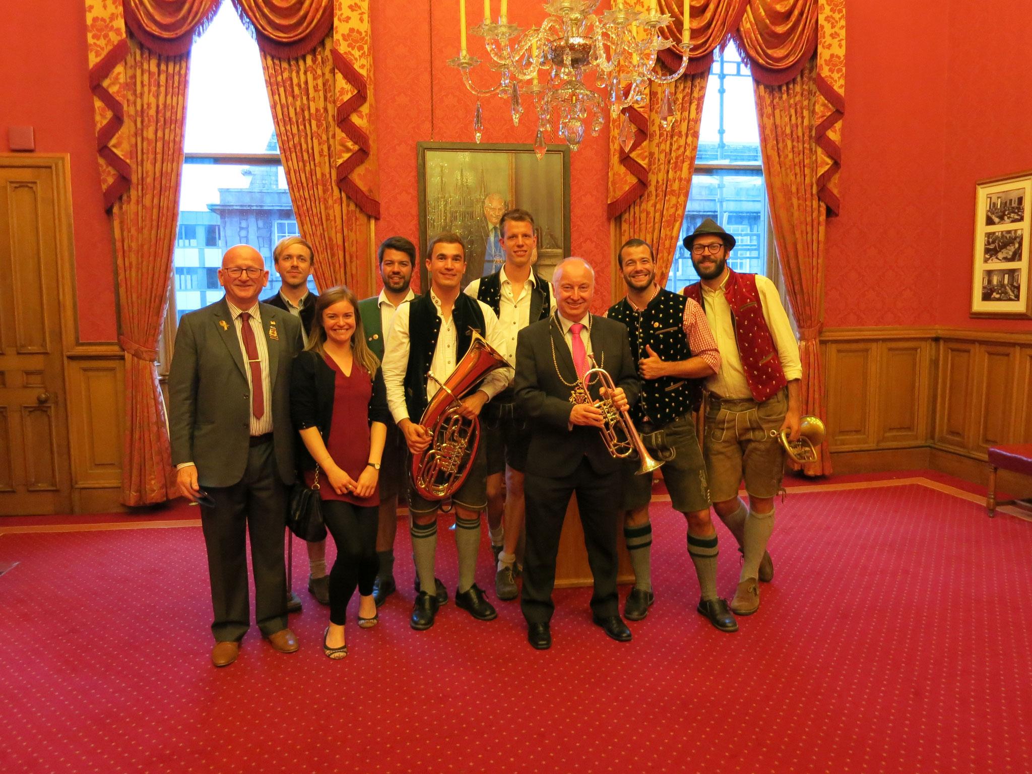 Ausflug nach Aberdeen im Rahmen der Städtepartnerschaft