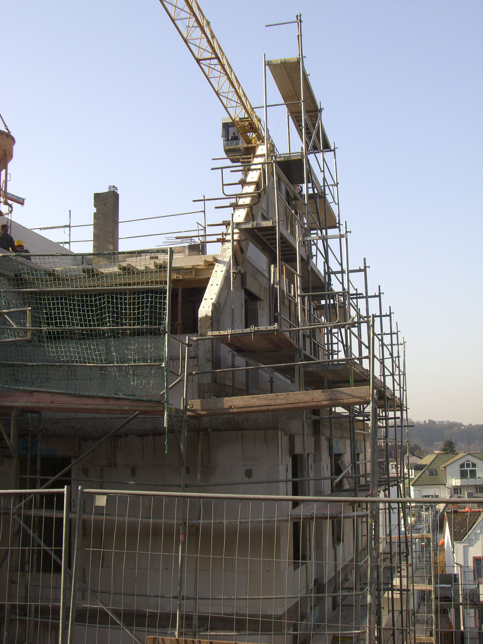 Gerüstbau Mehrfamilienhaus