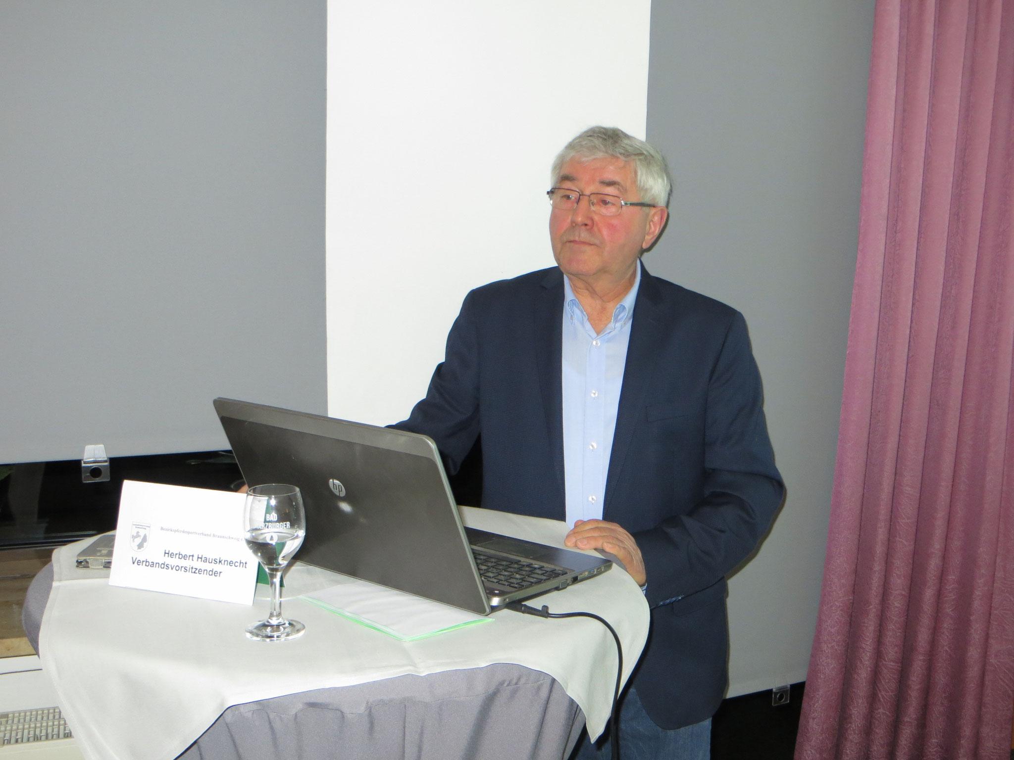 Unser Vorsitzender - Herbert Hausknecht