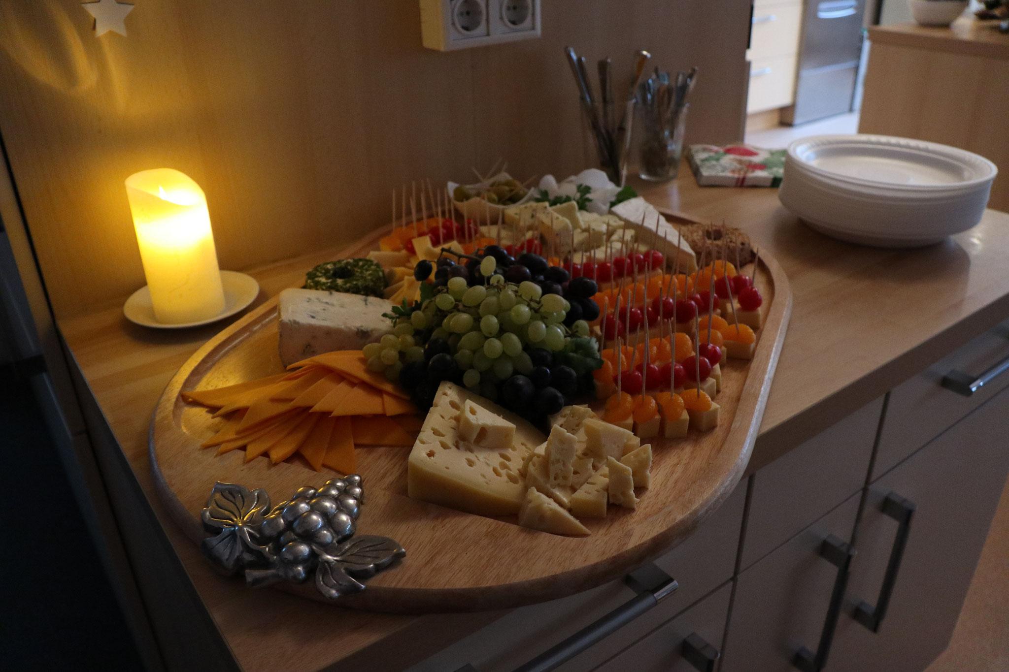'Käse-Ecke' Weihnachtsfeier 2017