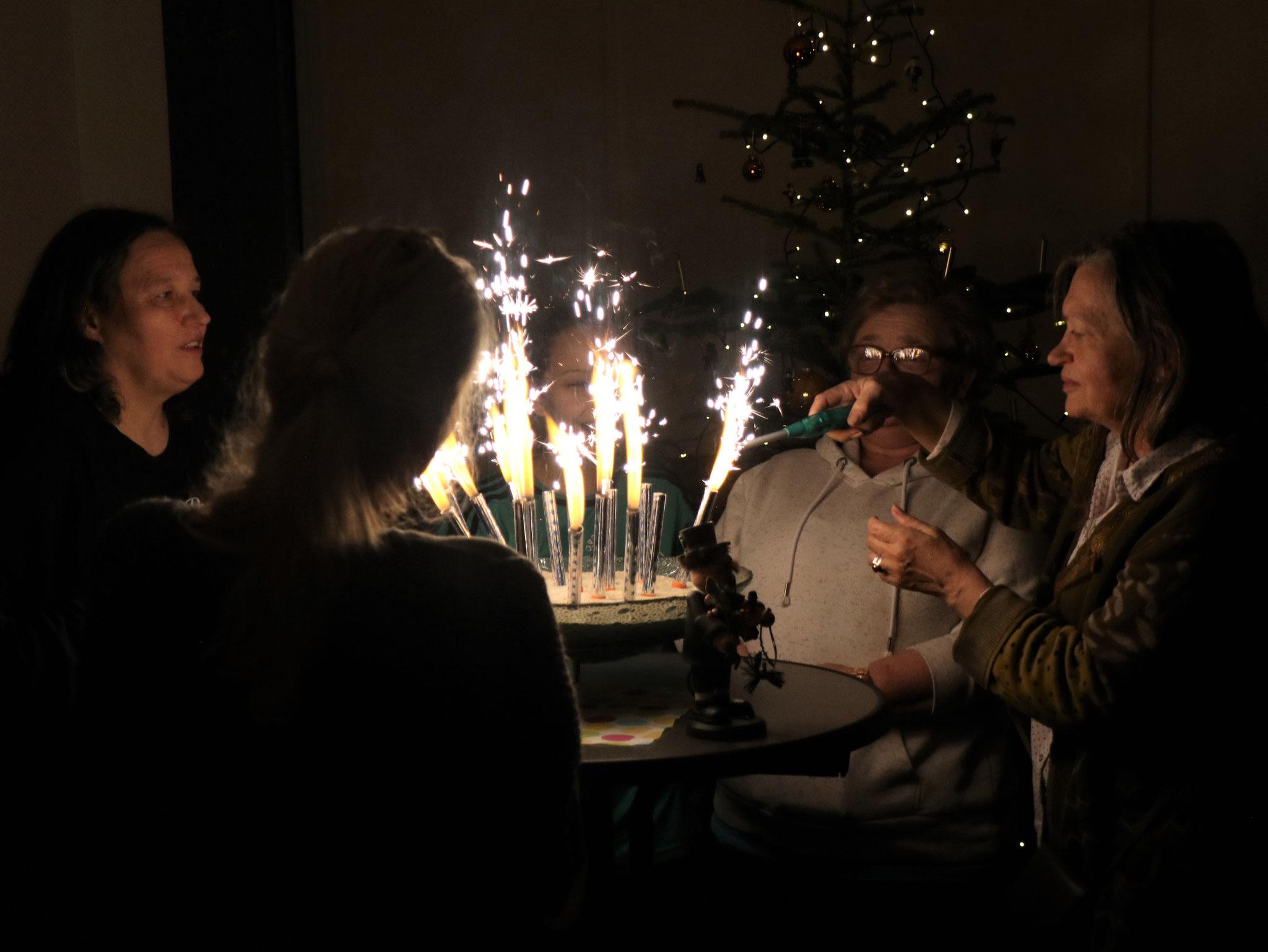 Neujahrsritual - seit vielen Jahren 'im Programm'