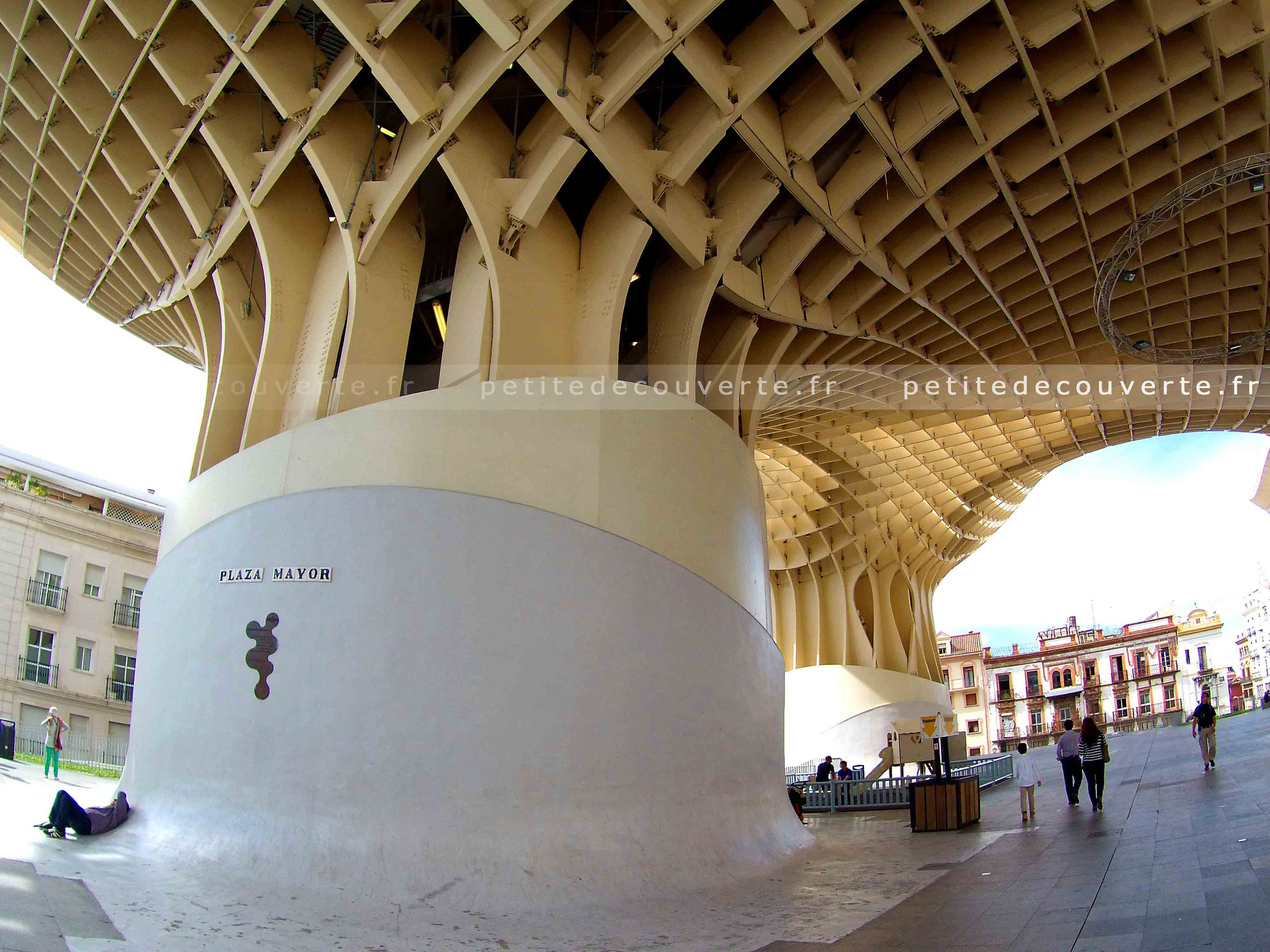 La metropol parasol - Las Setas - Séville