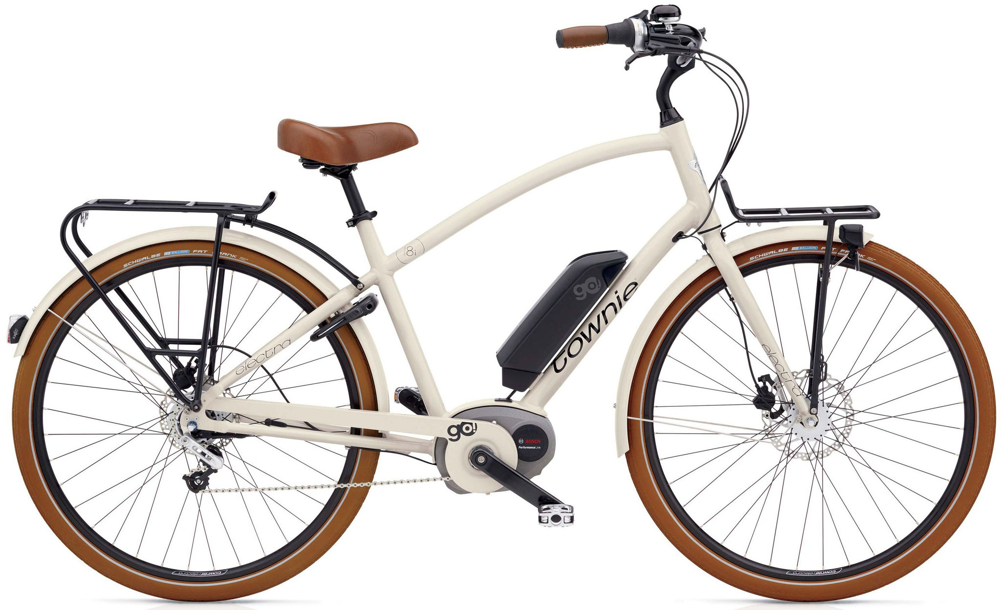 Electra Towie Commute Go! 8i - Step-Over Grau
